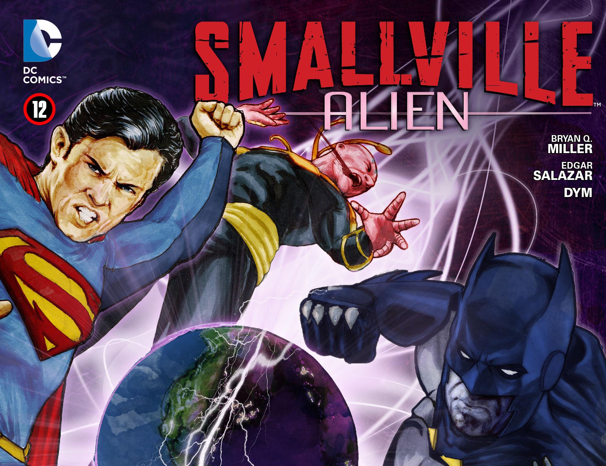 Read online Smallville: Alien comic -  Issue #12 - 1