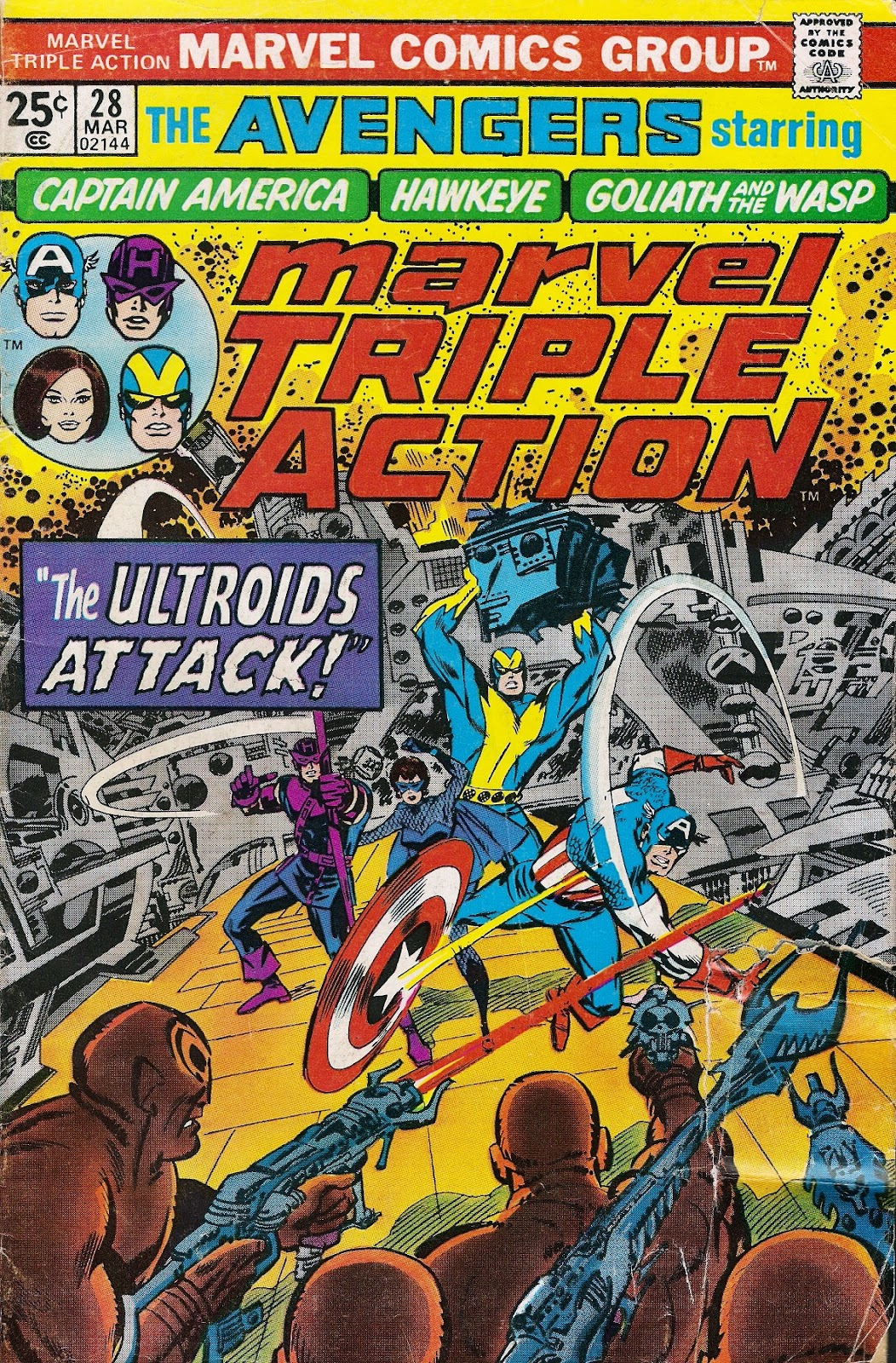 Marvel Triple Action (1972) issue 28 - Page 1