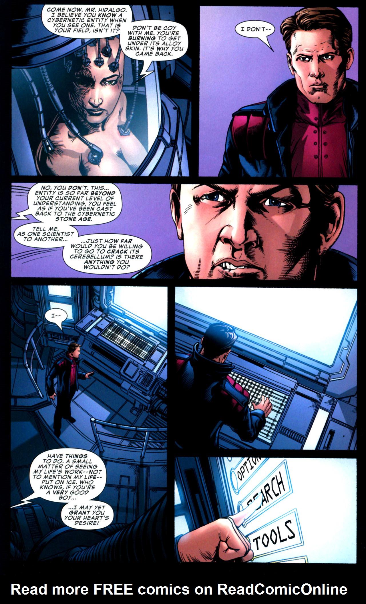 Read online Amazing Fantasy (2004) comic -  Issue #17 - 10