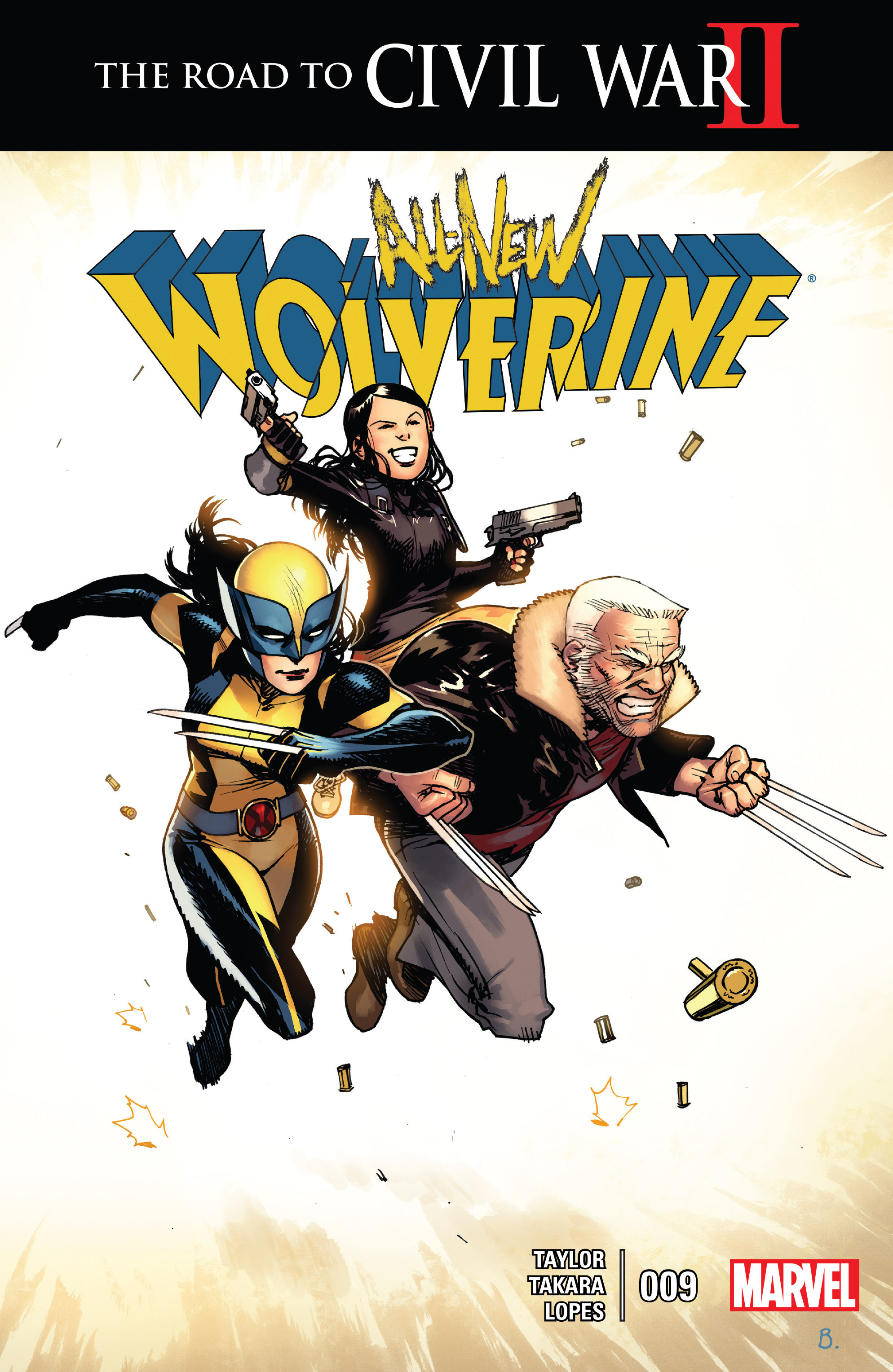 Read online All-New Wolverine (2016) comic -  Issue #9 - 1