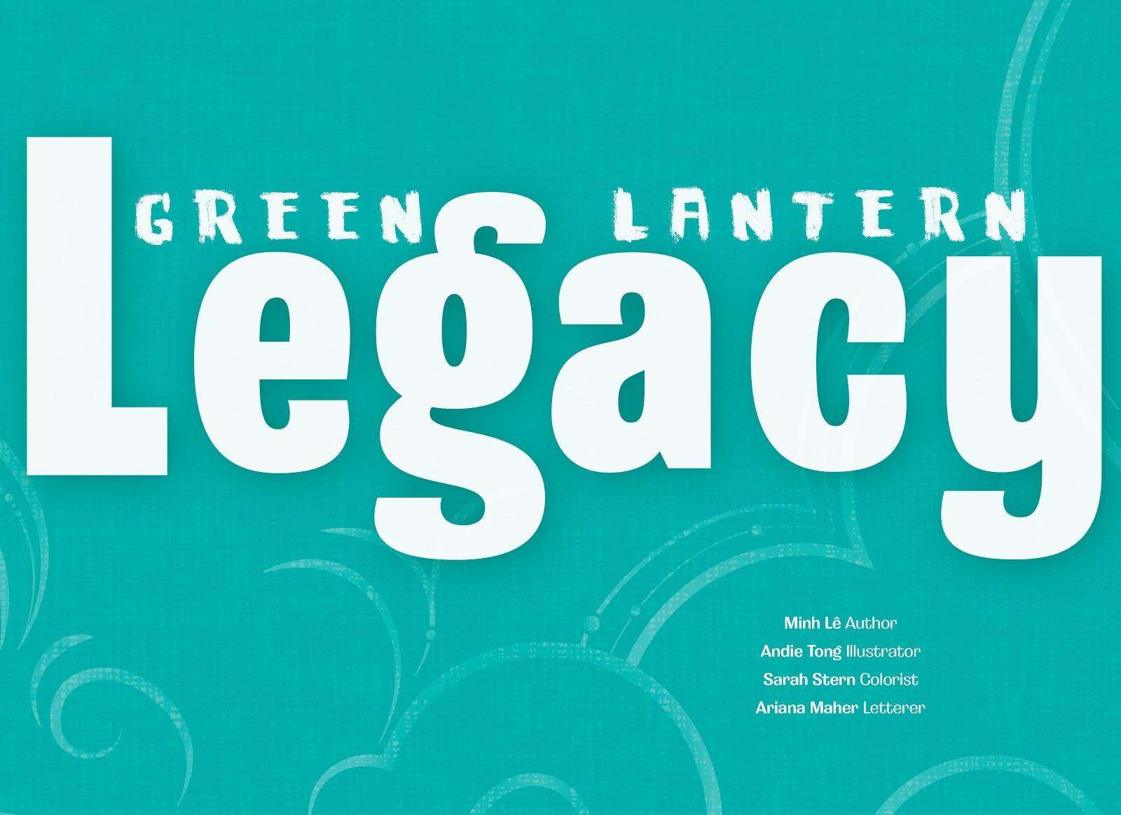Read online Green Lantern: Legacy comic -  Issue # TPB - 3