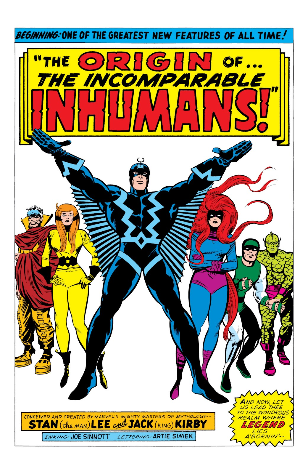 Read online Marvel Masterworks: The Inhumans comic -  Issue # TPB 1 (Part 1) - 8