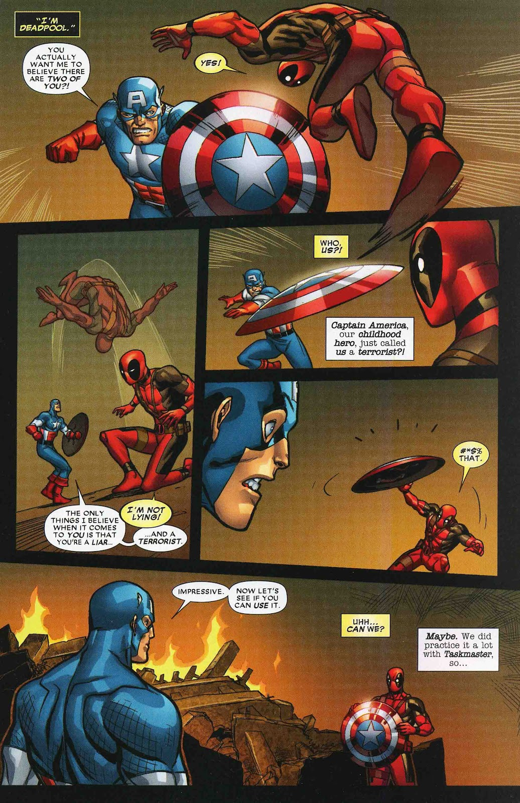 Read online Deadpool (2008) comic -  Issue #47 - 7