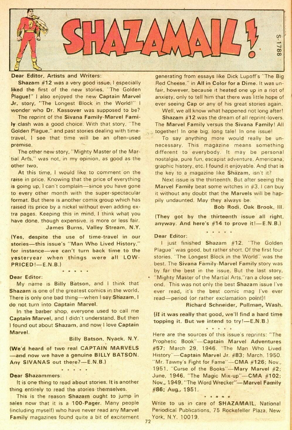 Read online Shazam! (1973) comic -  Issue #14 - 60