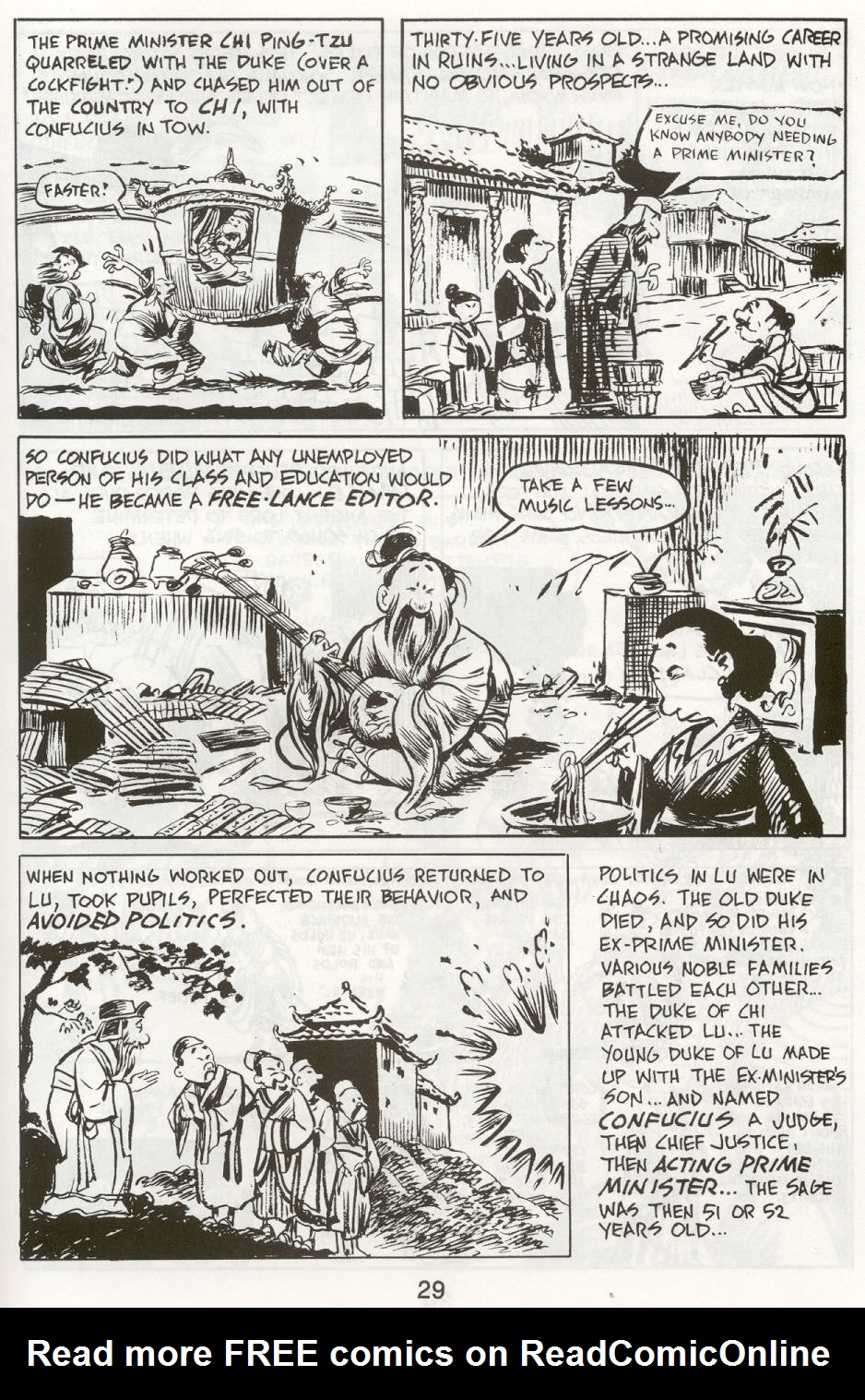 Read online The Cartoon History of the Universe comic -  Issue #9 - 32