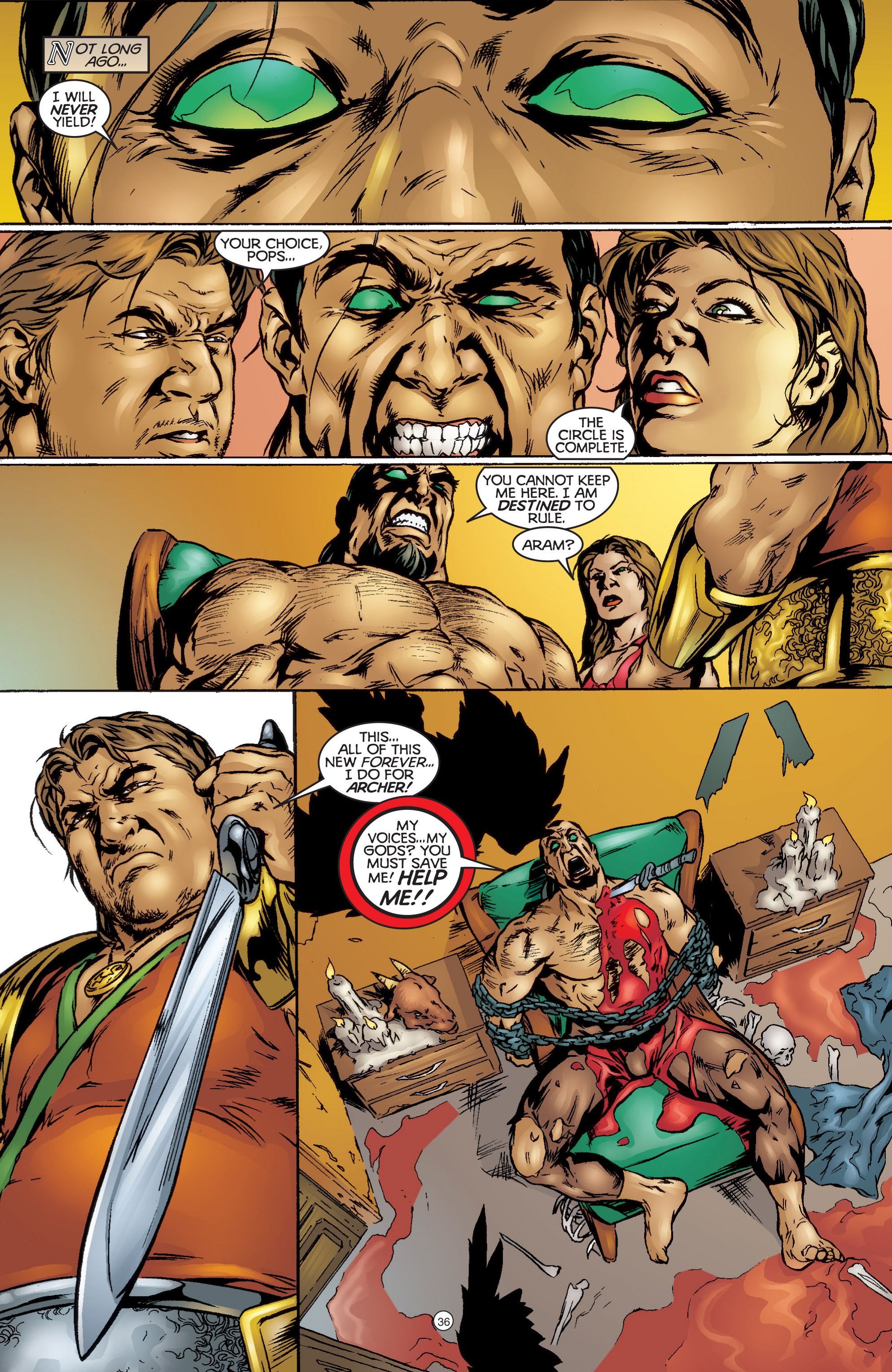 Read online Eternal Warriors comic -  Issue # Issue The Immortal Enemy - 33
