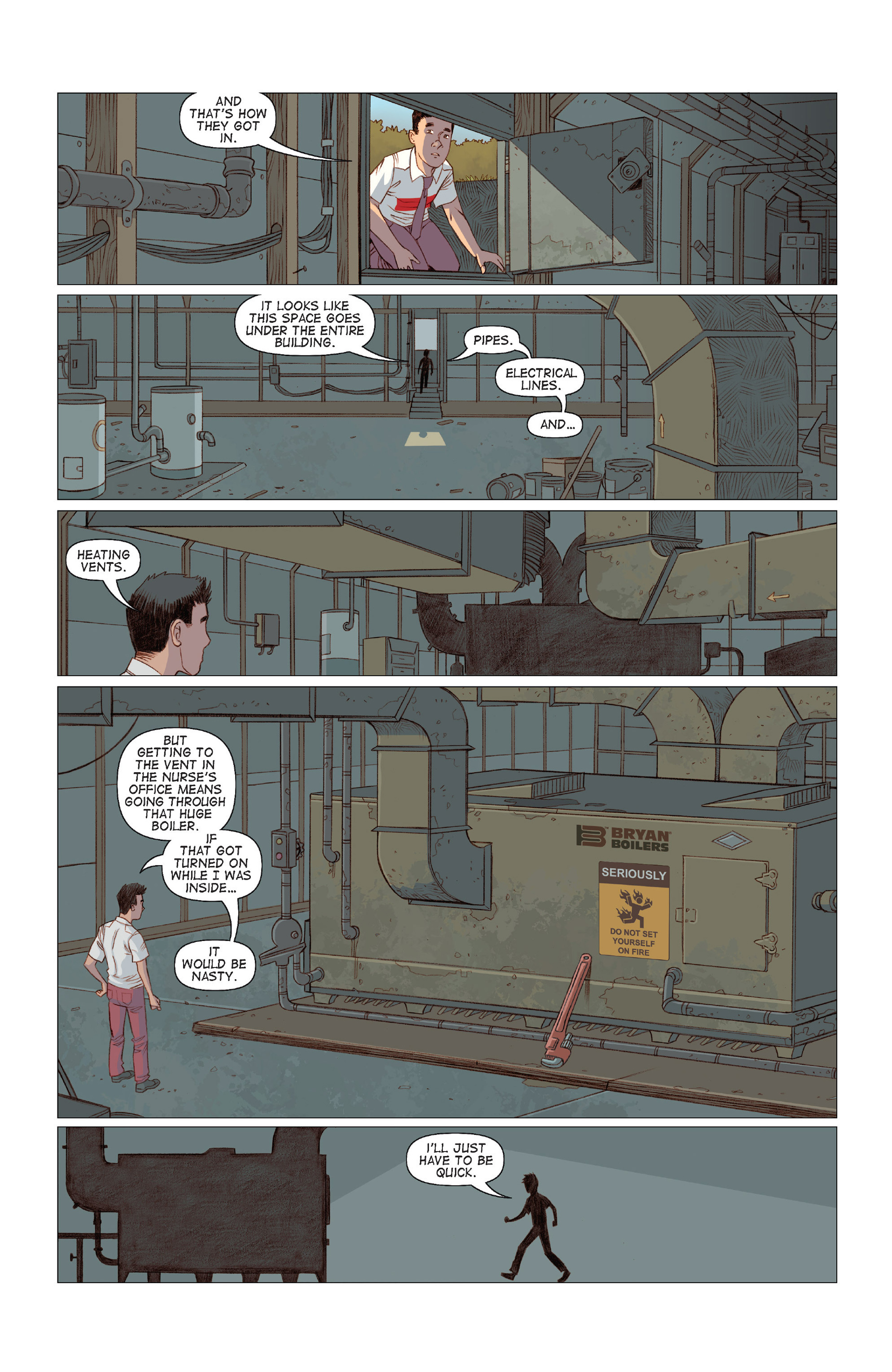 Read online Five Weapons comic -  Issue #8 - 14
