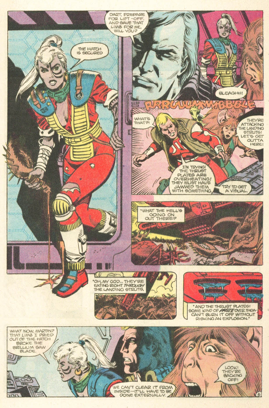 Read online Atari Force (1984) comic -  Issue #15 - 7