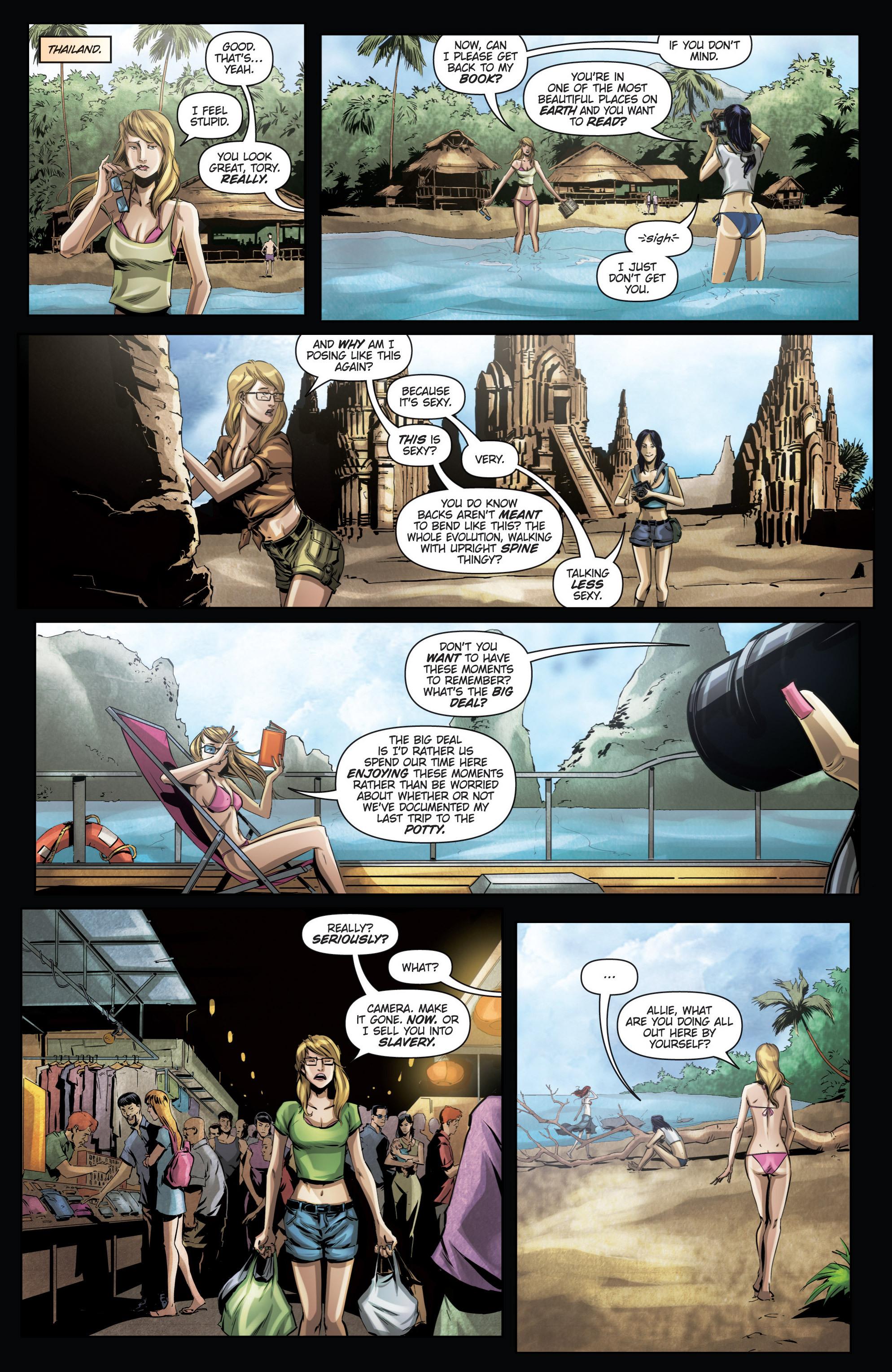 Read online Grimm Fairy Tales presents No Tomorrow comic -  Issue # TPB - 62