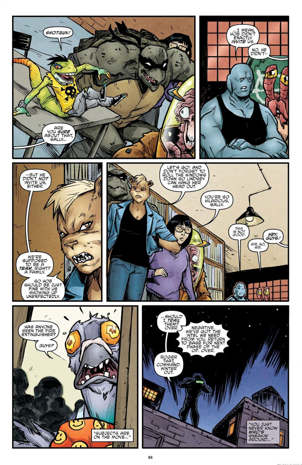 Read online Teenage Mutant Ninja Turtles: The IDW Collection comic -  Issue # TPB 7 (Part 1) - 83
