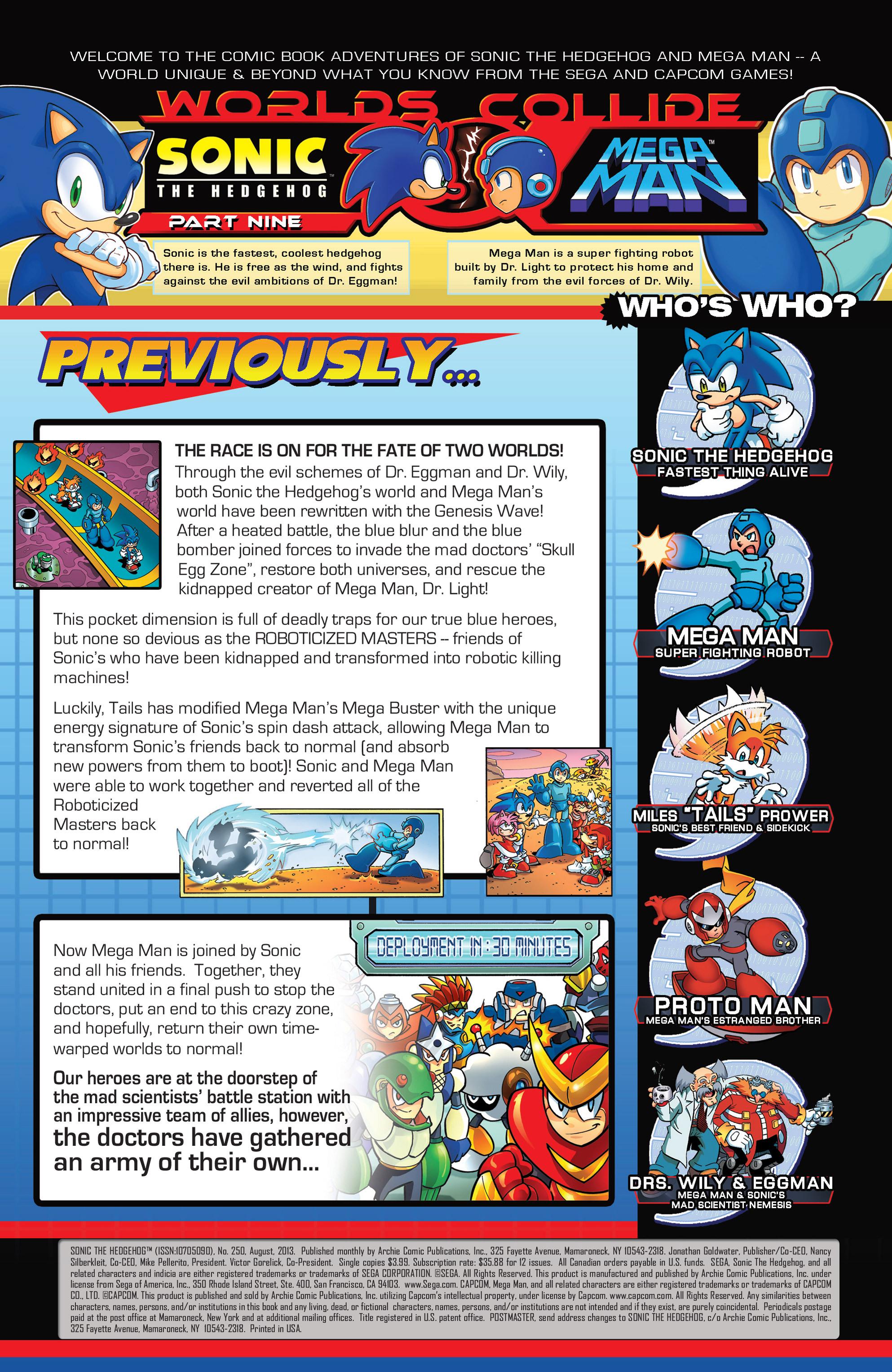 Read online Sonic Mega Man Worlds Collide comic -  Issue # Vol 3 - 10