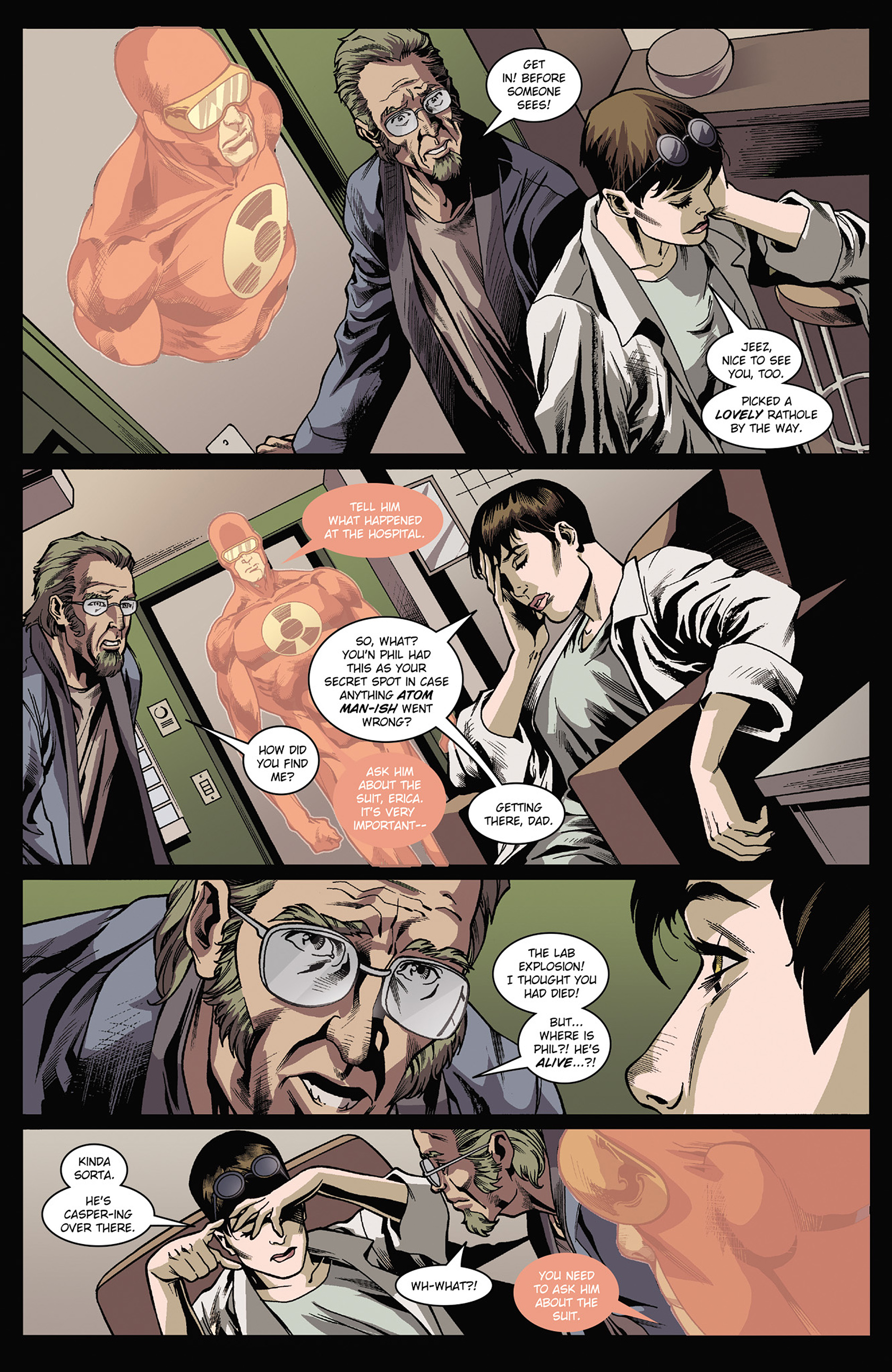 Read online Solar: Man of the Atom (2014) comic -  Issue #3 - 8