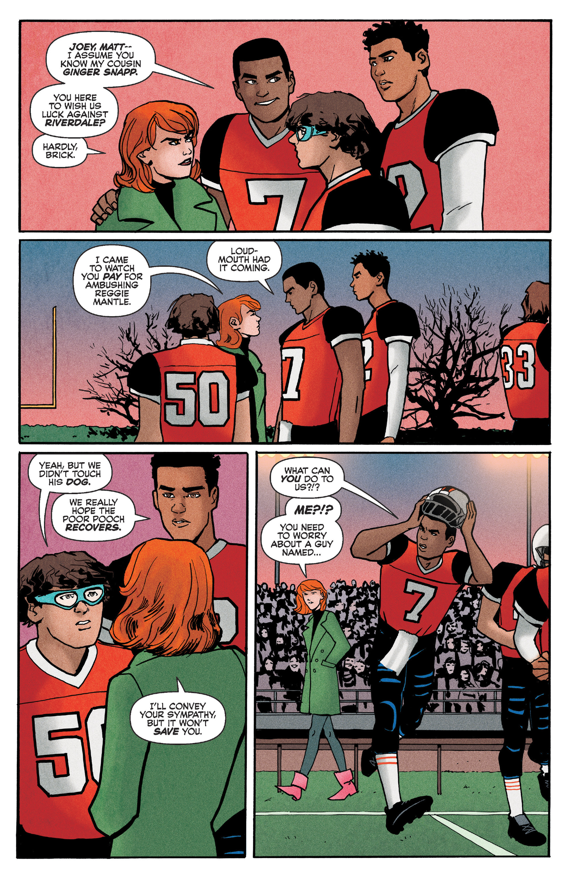 Read online Reggie and Me comic -  Issue #5 - 12