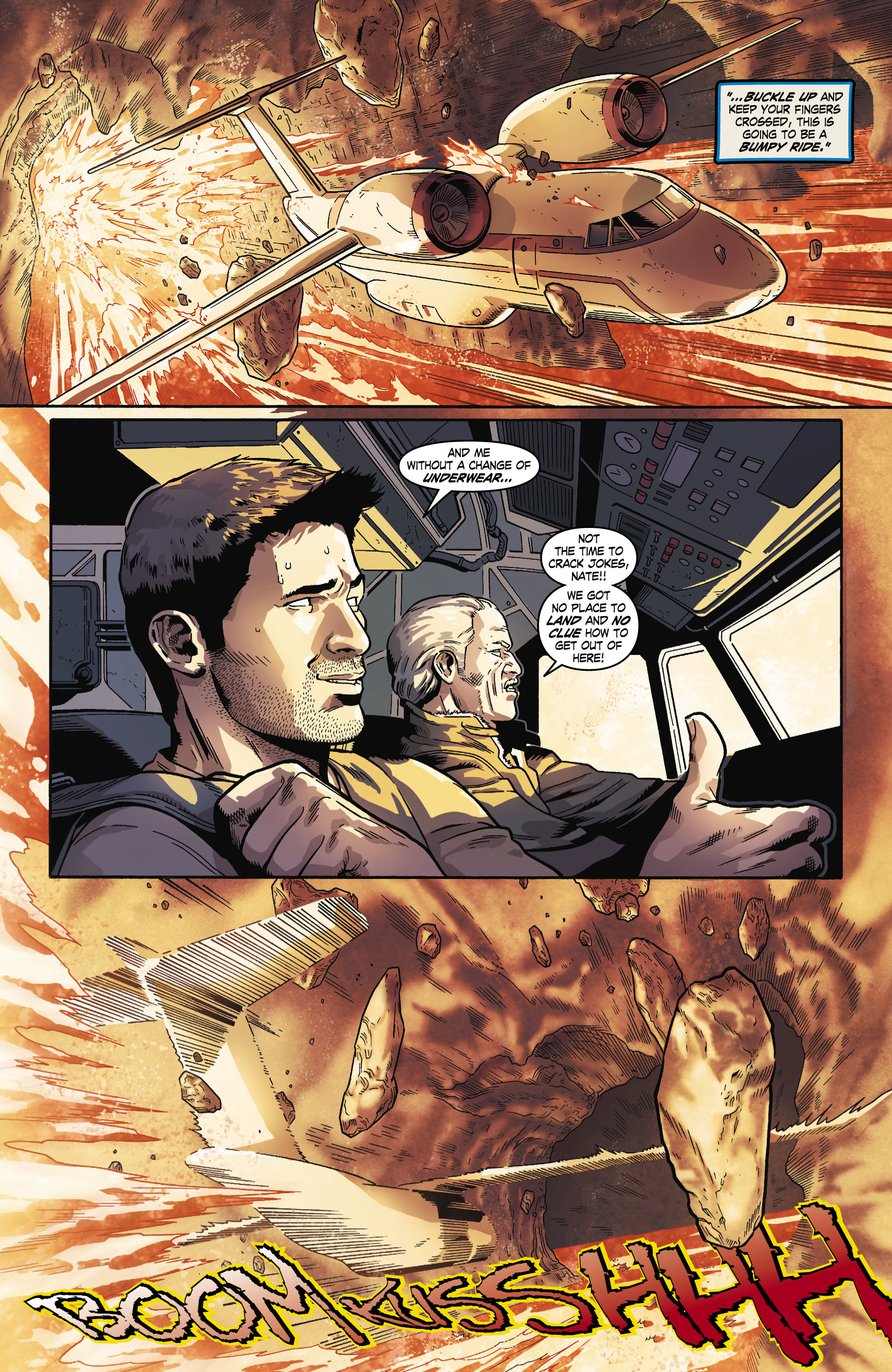 Read online Uncharted comic -  Issue #6 - 15