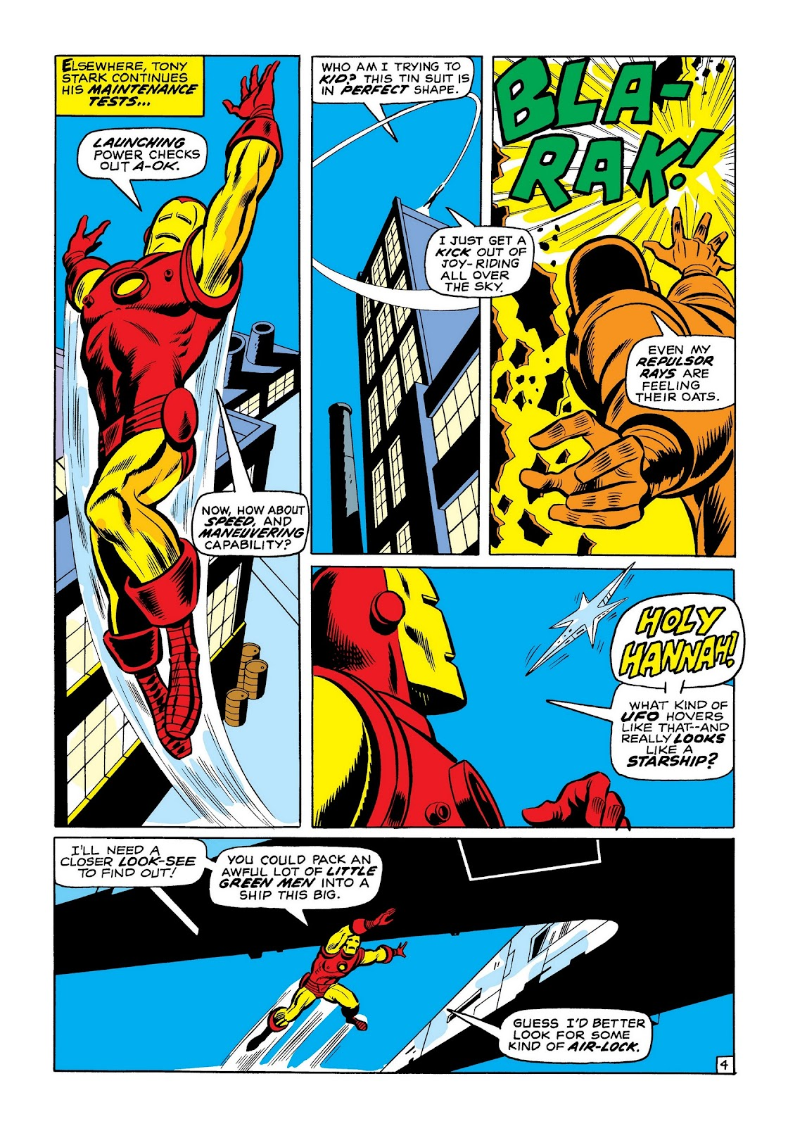 Read online Marvel Masterworks: The Invincible Iron Man comic -  Issue # TPB 7 (Part 2) - 33