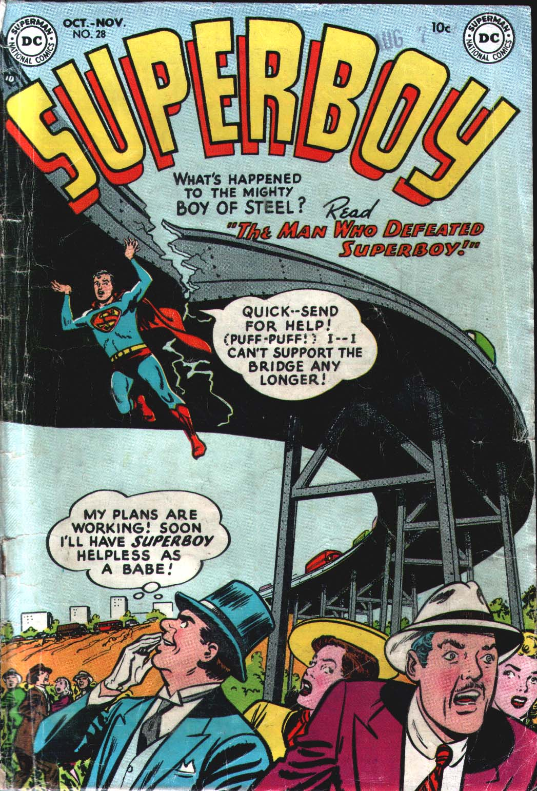 Superboy (1949) issue 28 - Page 1