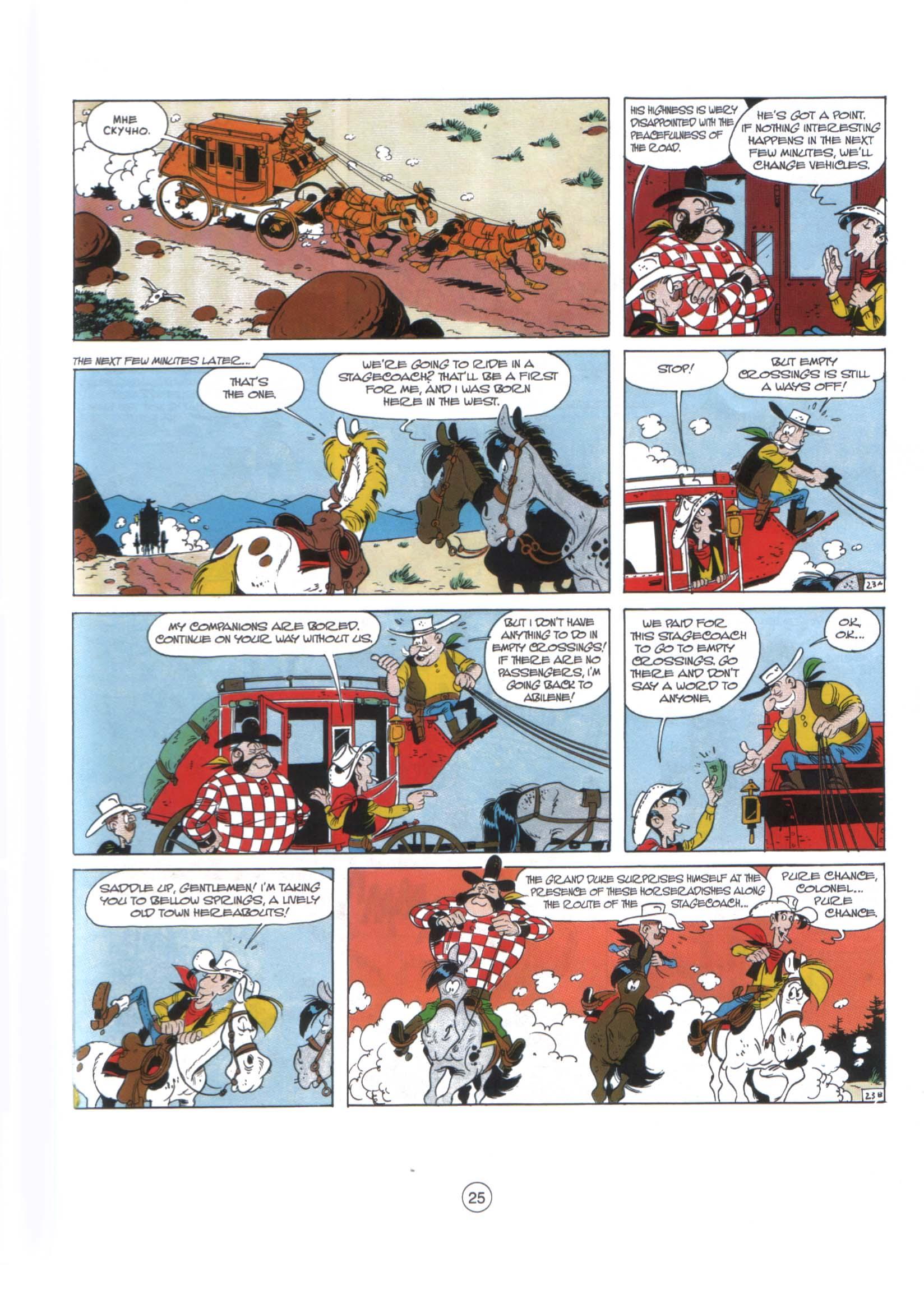 Read online A Lucky Luke Adventure comic -  Issue #29 - 24
