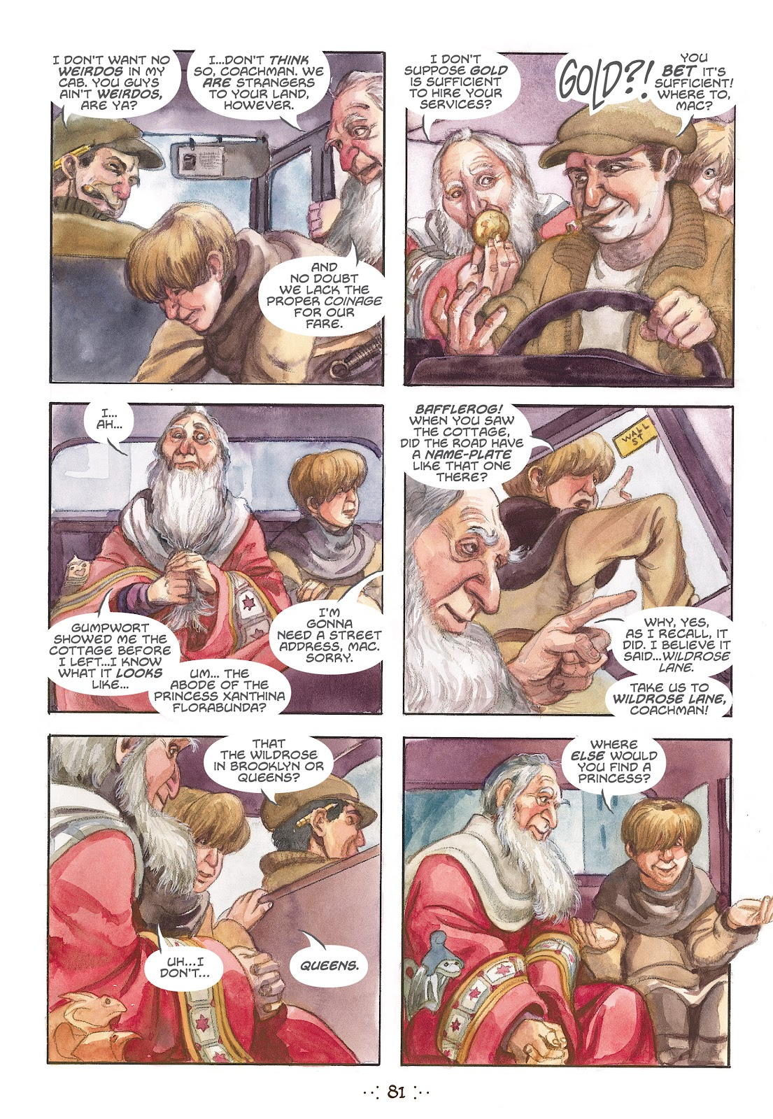 Read online The Wizard's Tale comic -  Issue # TPB - 77