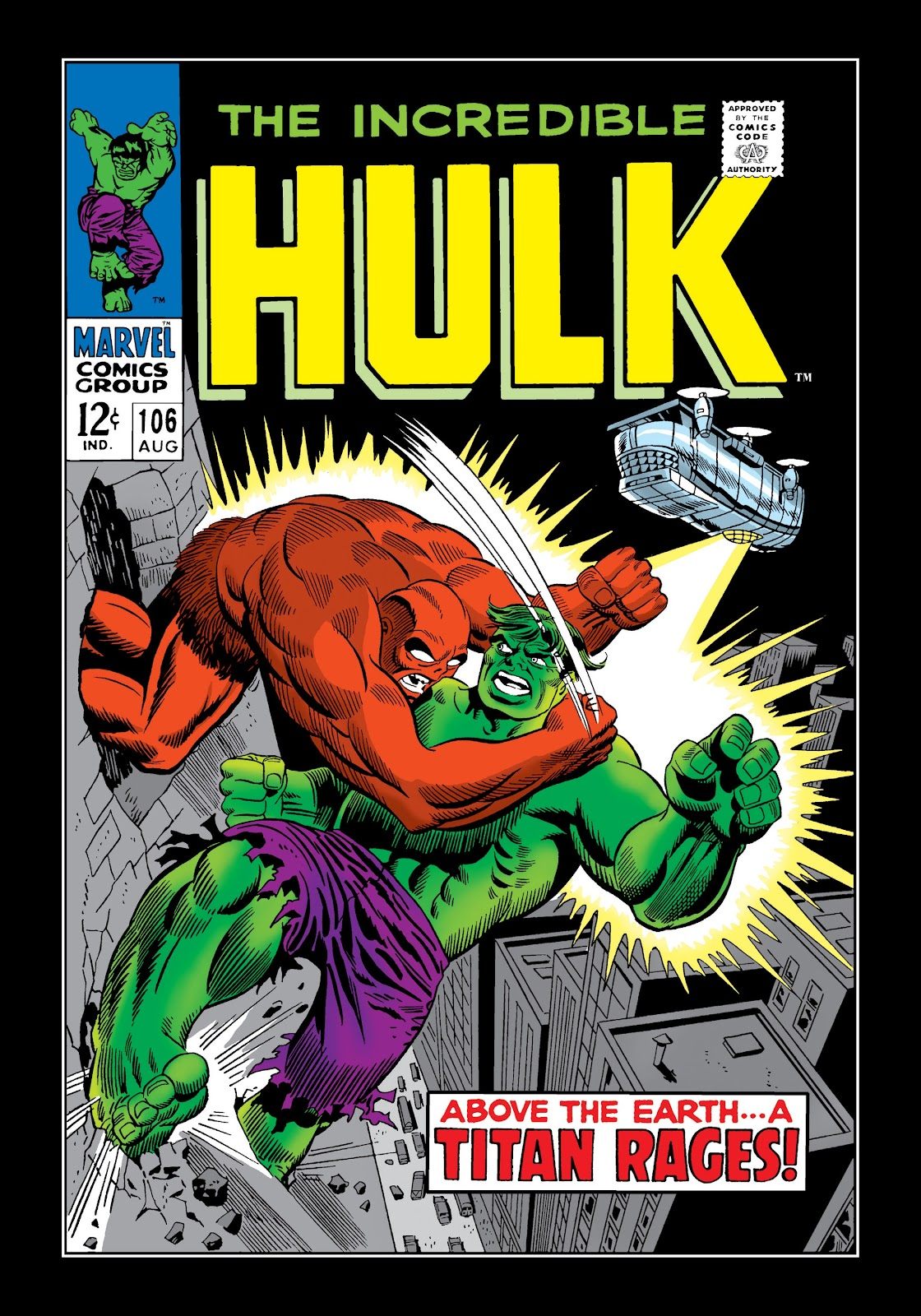 Read online Marvel Masterworks: The Incredible Hulk comic -  Issue # TPB 4 (Part 1) - 70
