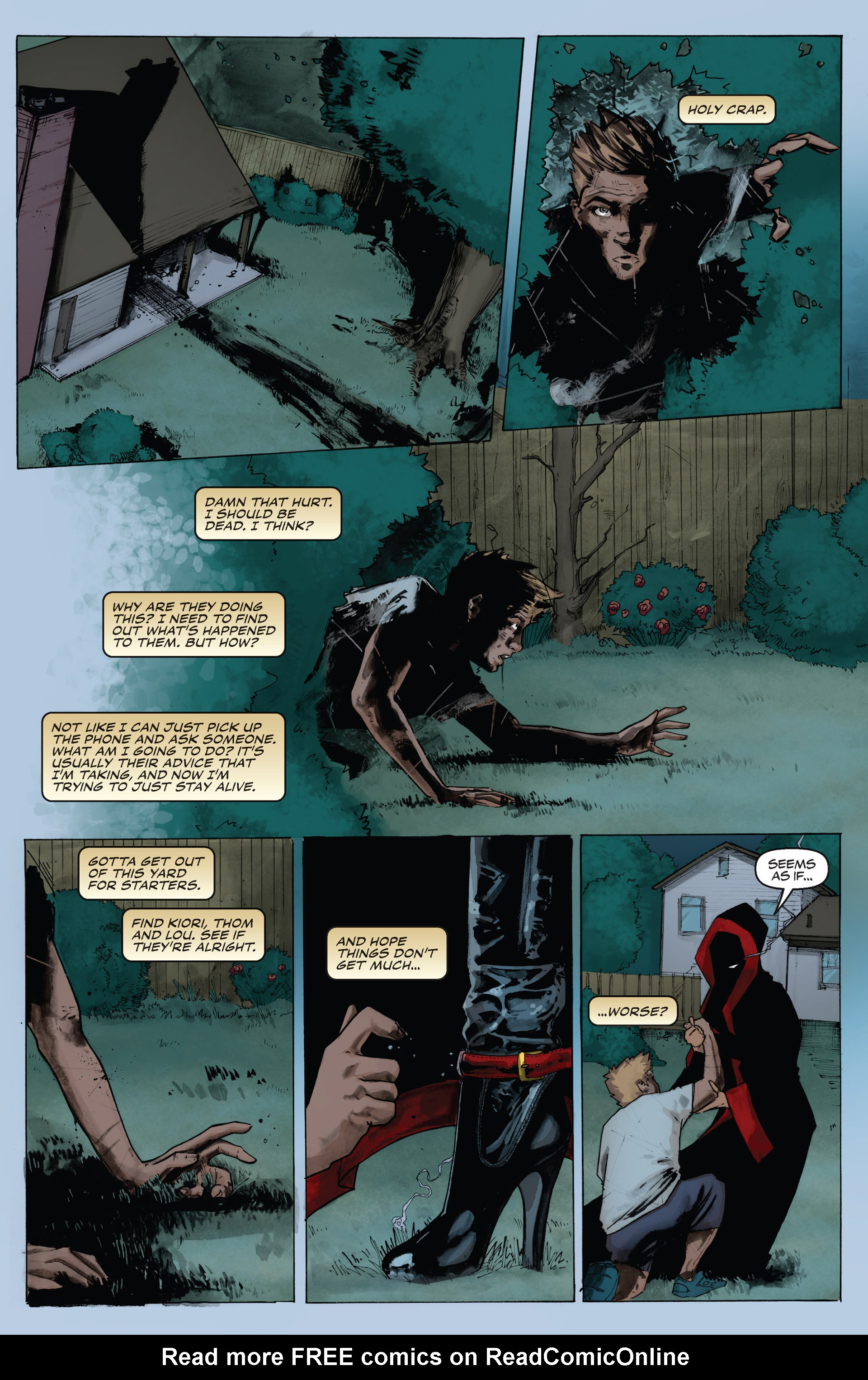 Read online Shrugged (2013) comic -  Issue #4 - 13