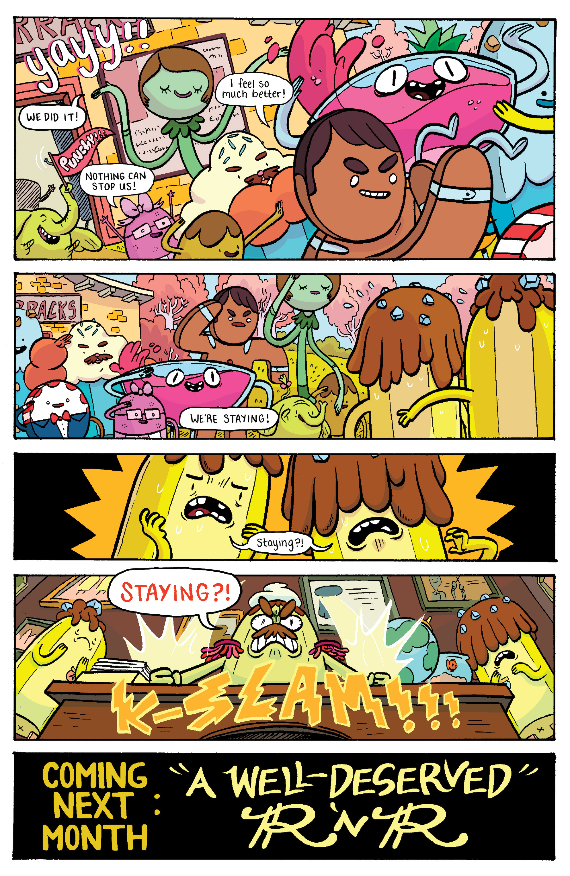Read online Adventure Time: Banana Guard Academ comic -  Issue #2 - 23