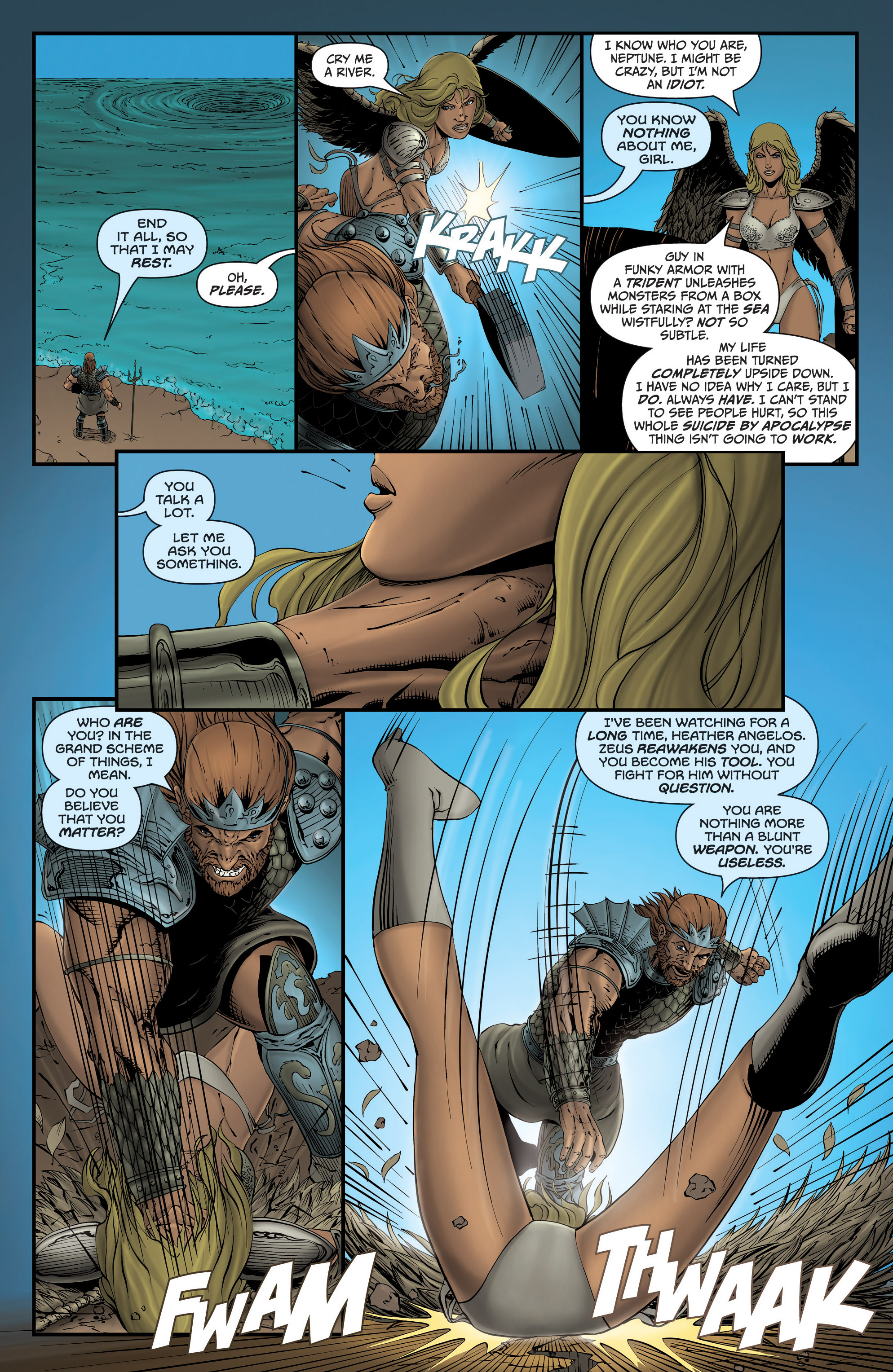 Read online Grimm Fairy Tales presents Grimm Universe comic -  Issue # TPB - 53