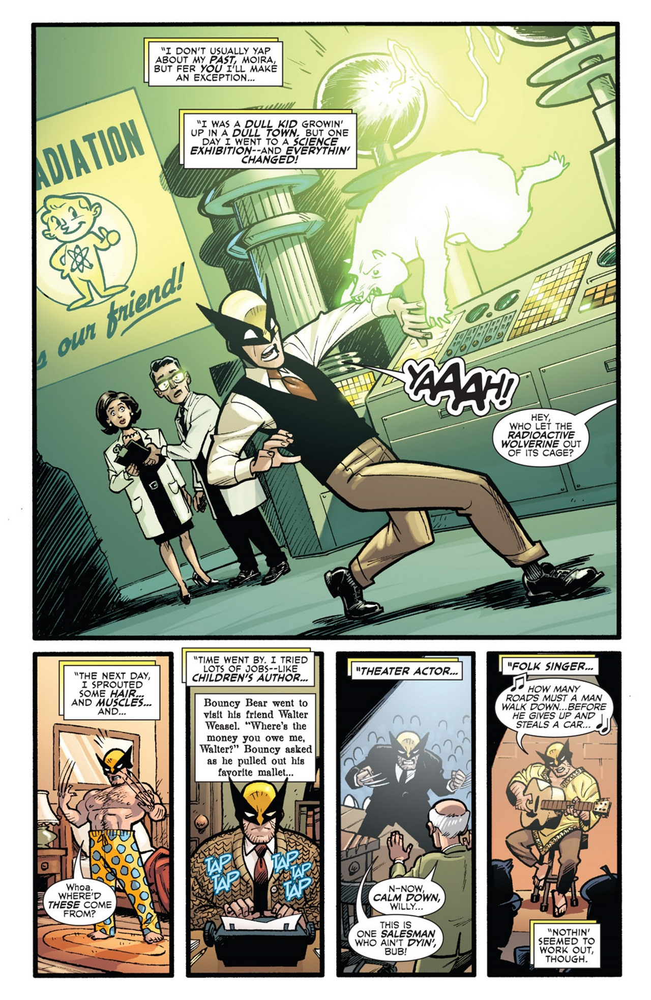 Read online Uncanny X-Men: First Class Giant-Size Special comic -  Issue # Full - 35