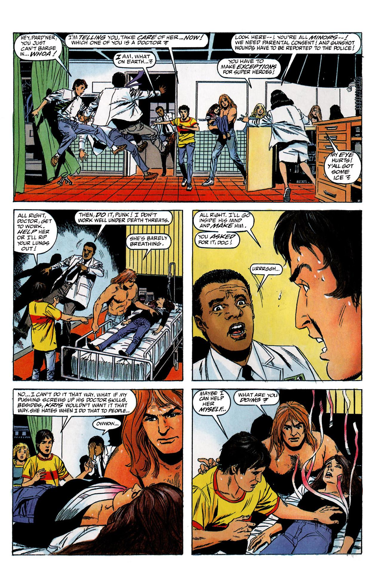 Read online Harbinger (1992) comic -  Issue #2 - 3