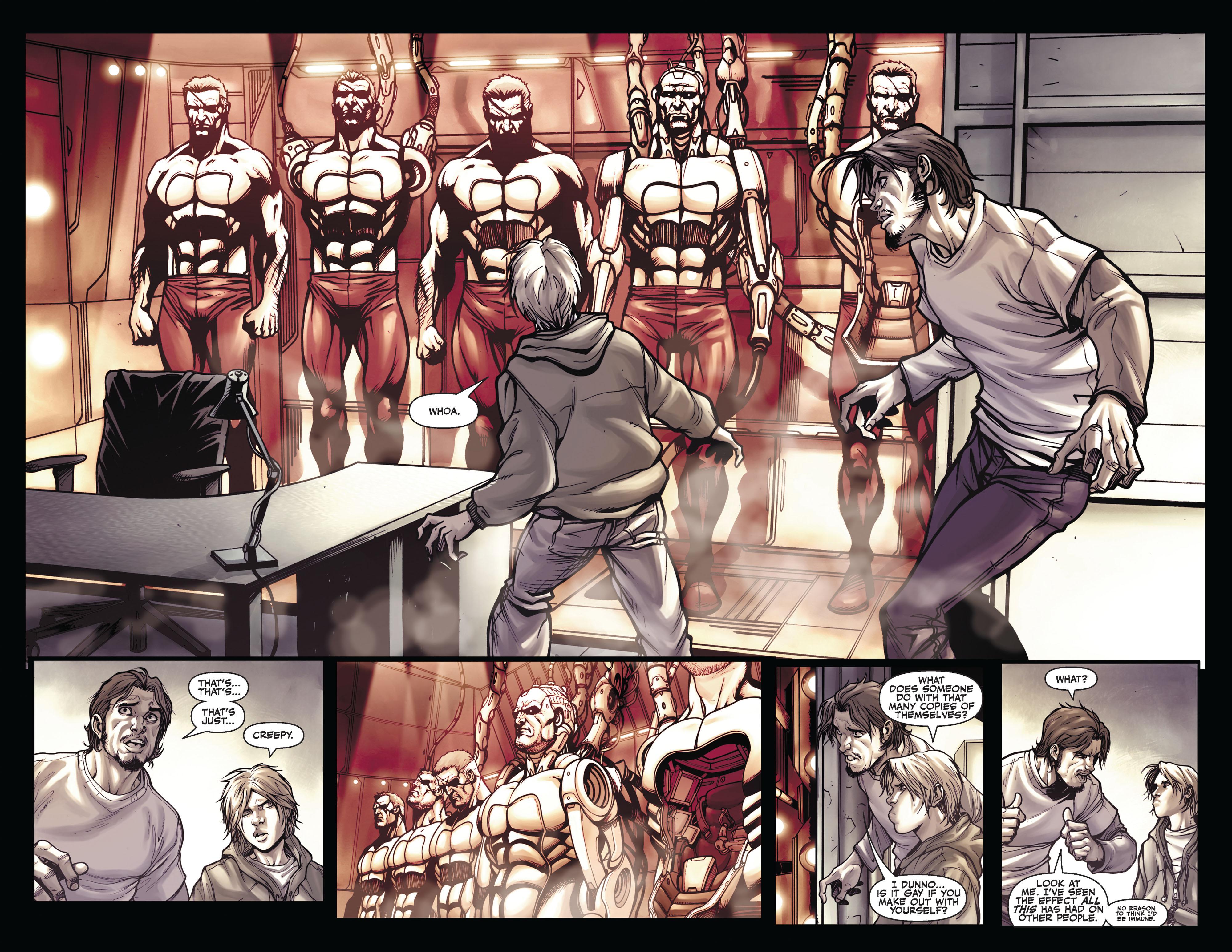 Read online Secret Warriors comic -  Issue #4 - 12