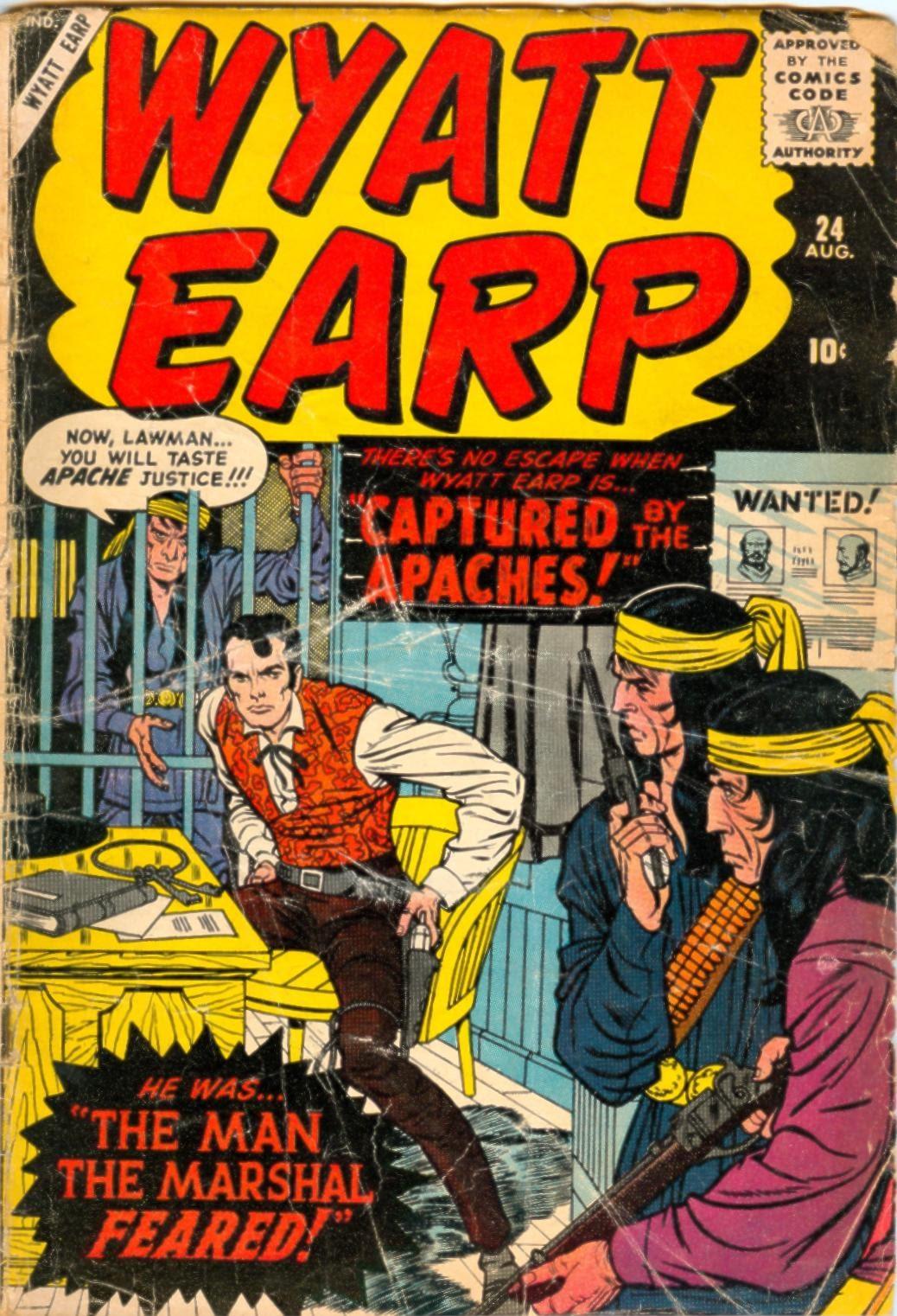 Wyatt Earp issue 24 - Page 1