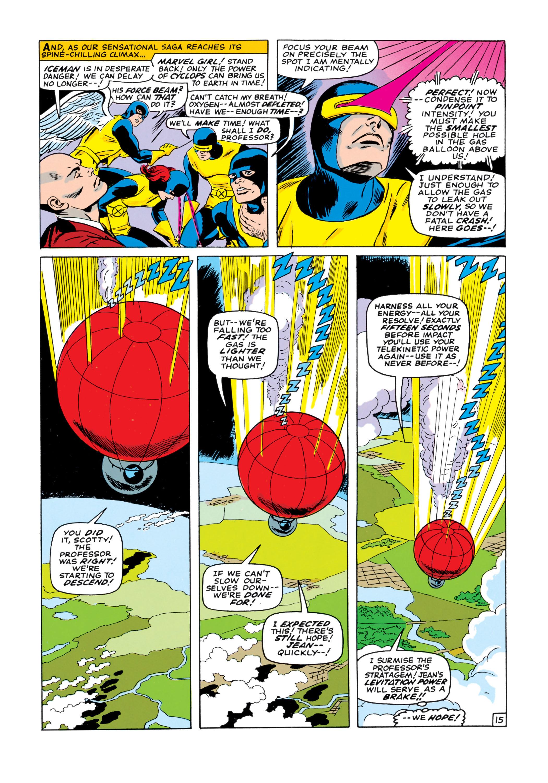 Read online Uncanny X-Men (1963) comic -  Issue #18 - 16
