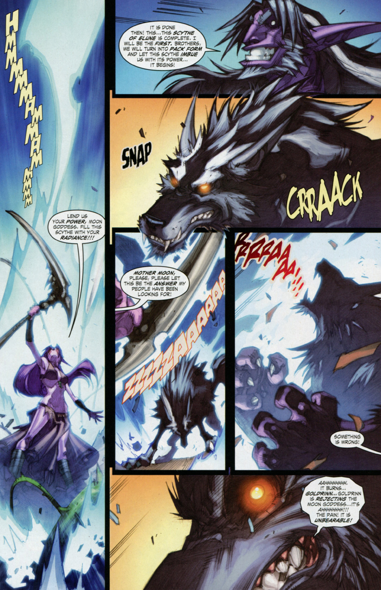 Read online World of Warcraft: Curse of the Worgen comic -  Issue #3 - 12