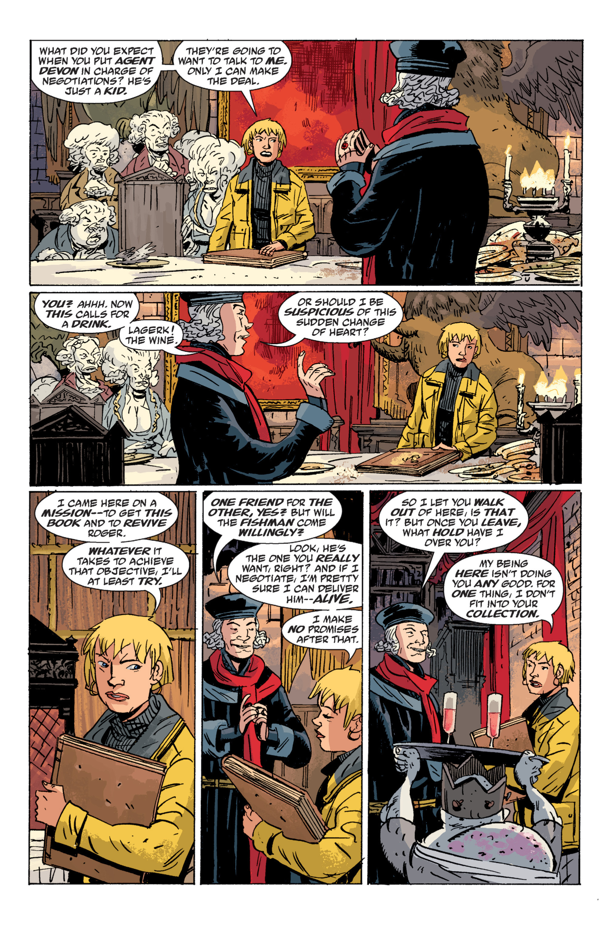 Read online B.P.R.D. (2003) comic -  Issue # TPB 6 - 117