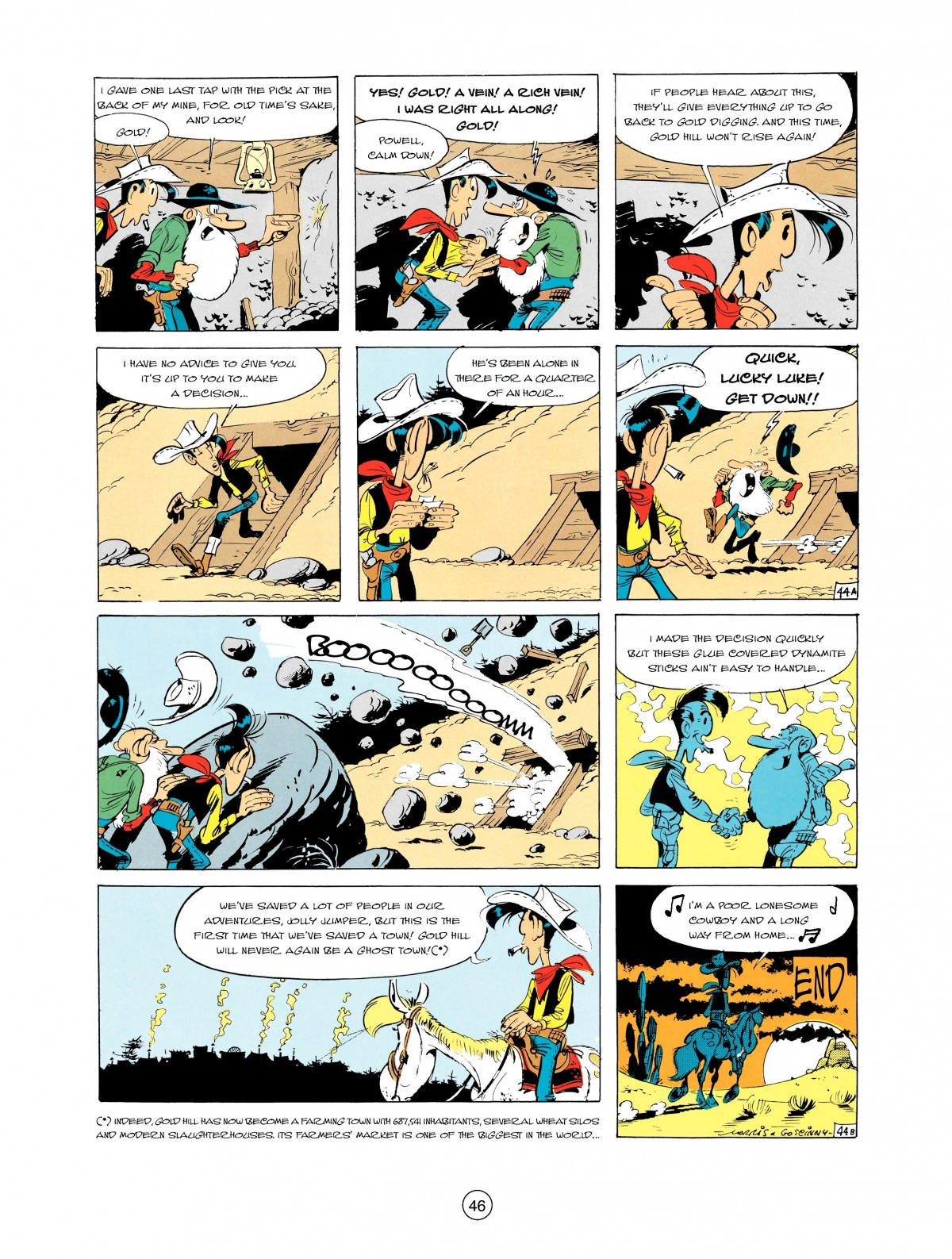 Read online A Lucky Luke Adventure comic -  Issue #2 - 48