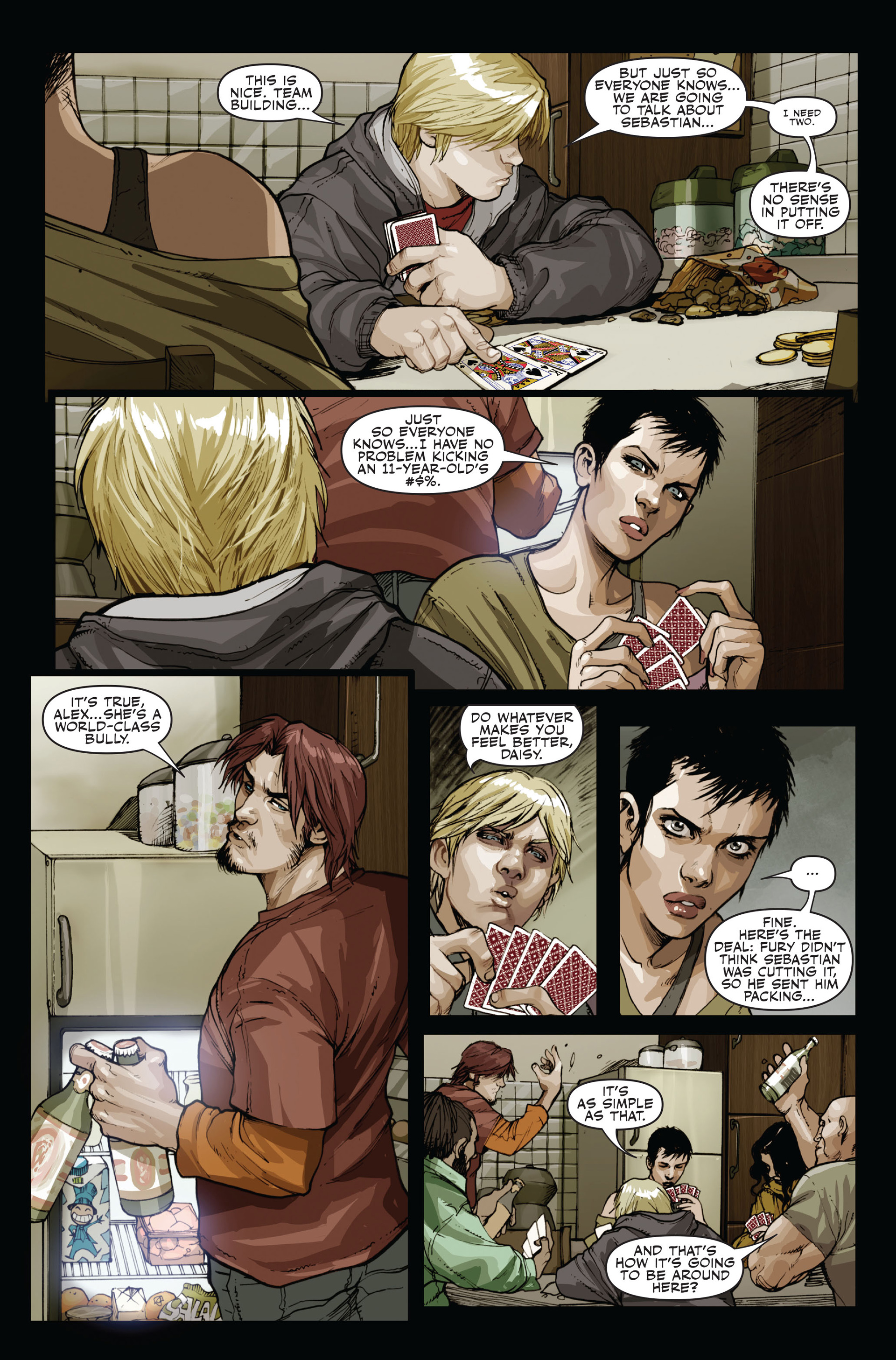 Read online Secret Warriors comic -  Issue #15 - 5