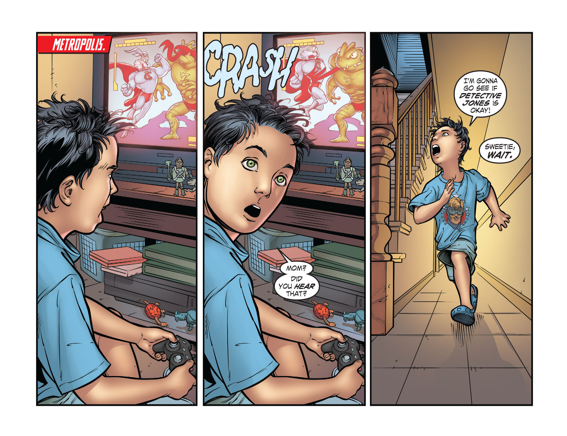 Read online Smallville: Season 11 comic -  Issue #32 - 15