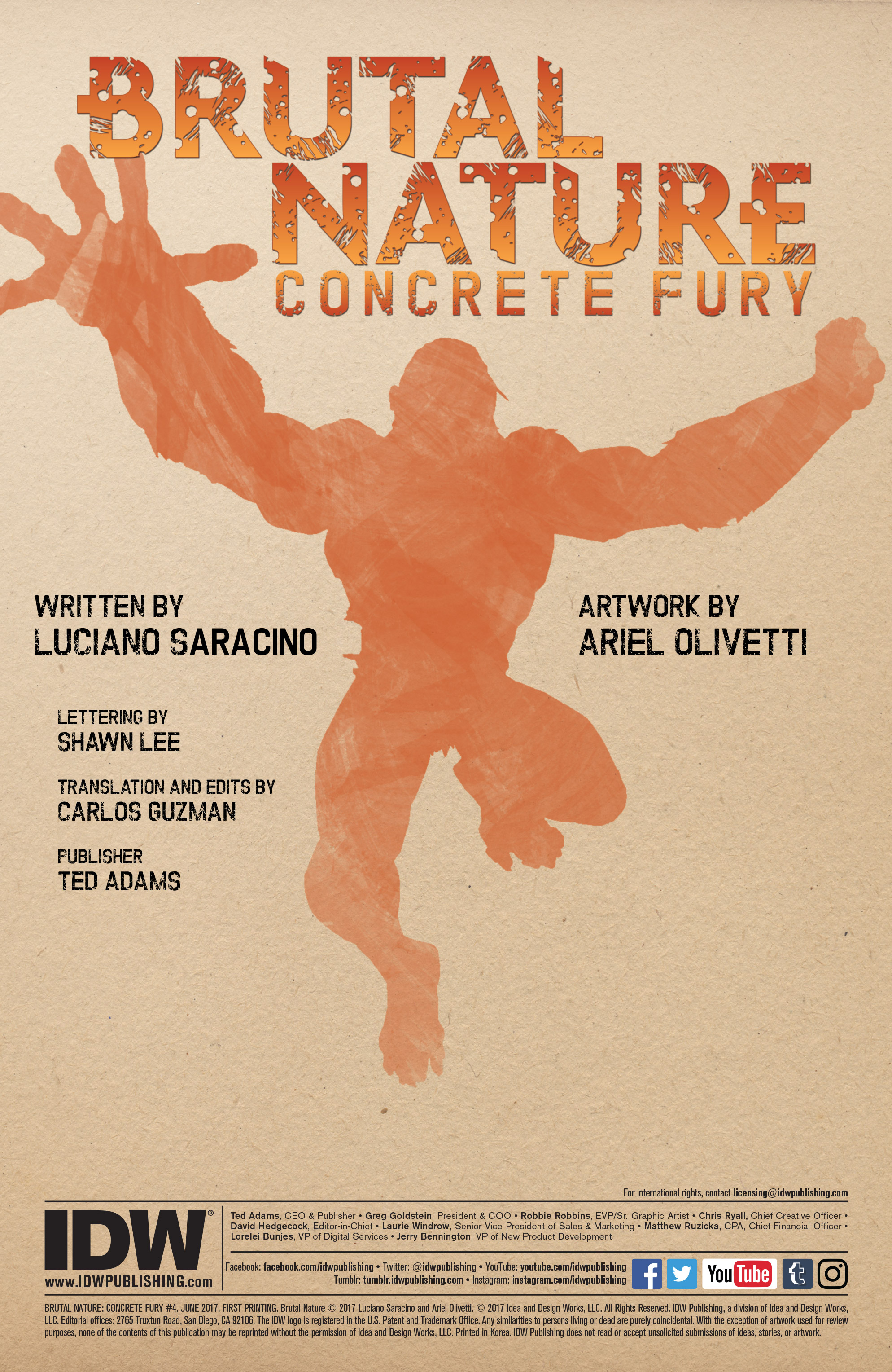 Read online Brutal Nature: Concrete Fury comic -  Issue #4 - 2