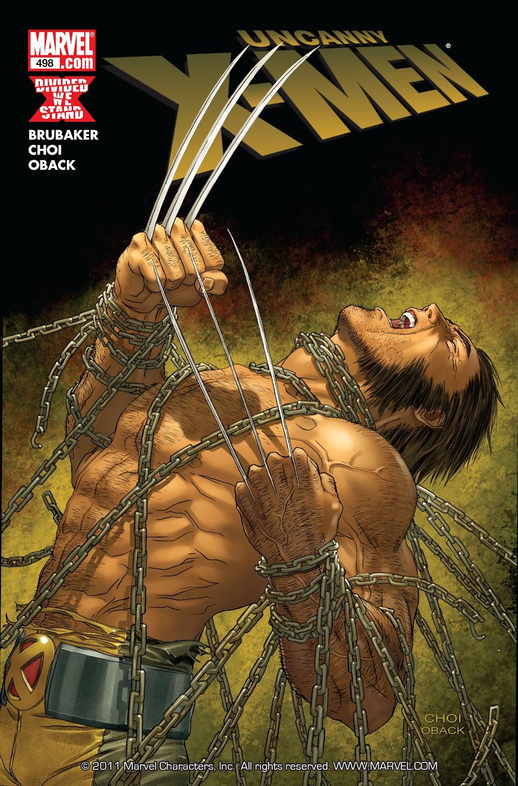 Uncanny X-Men (1963) 498 Page 1