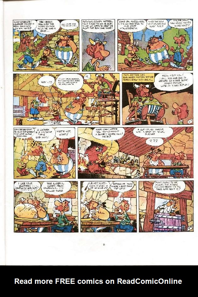 Read online Asterix comic -  Issue #8 - 6