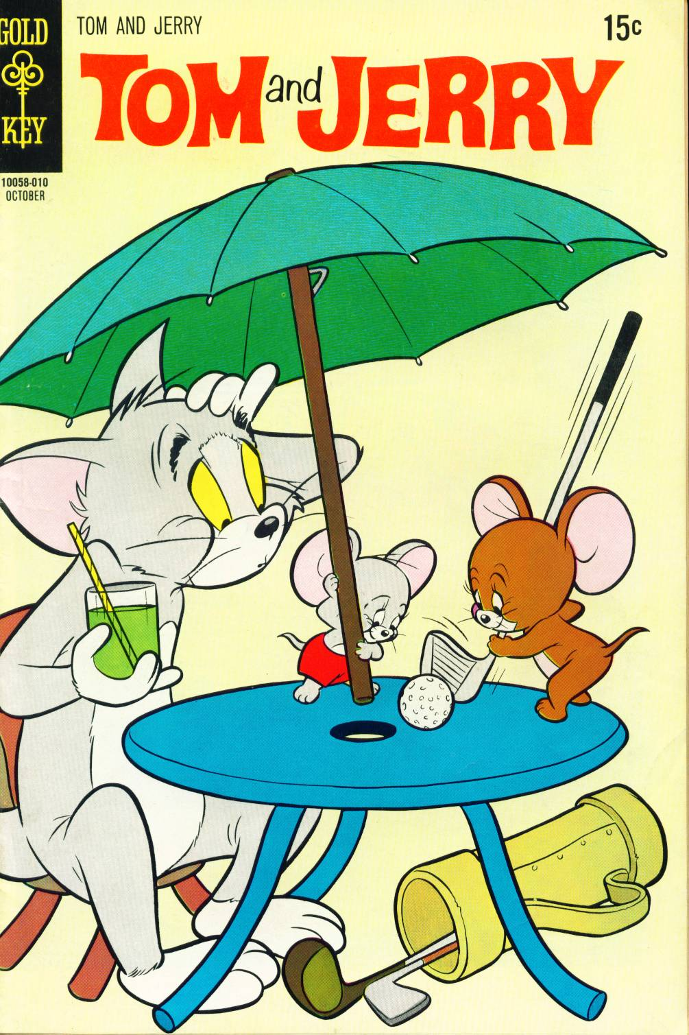Tom and Jerry 253 Page 1