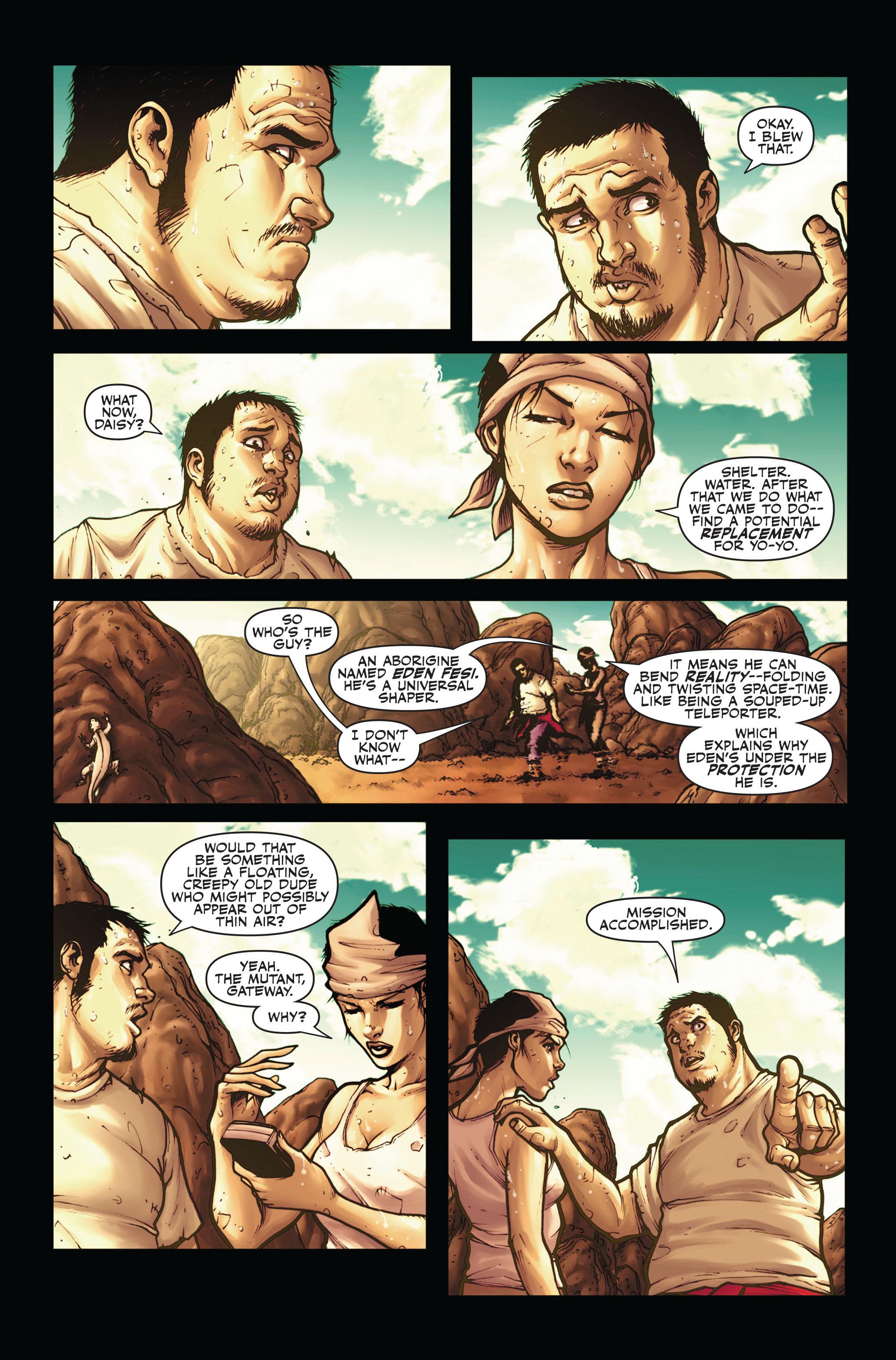 Read online Secret Warriors comic -  Issue #4 - 5