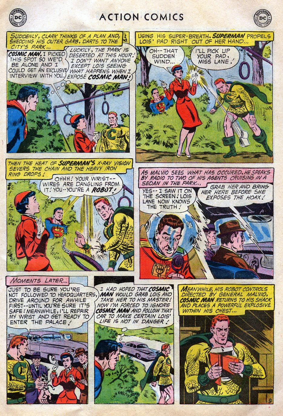 Read online Action Comics (1938) comic -  Issue #258 - 11