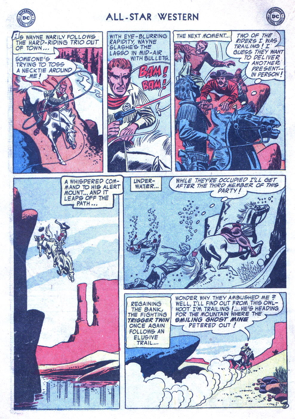 Read online All-Star Western (1951) comic -  Issue #77 - 6