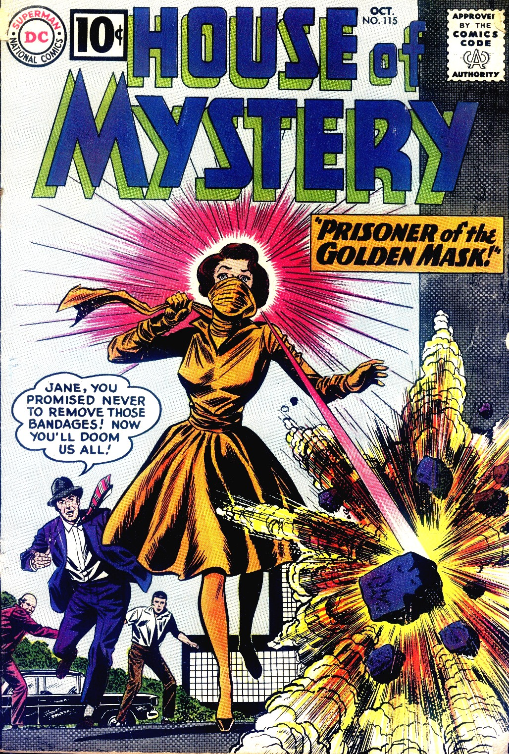 House of Mystery (1951) issue 115 - Page 1