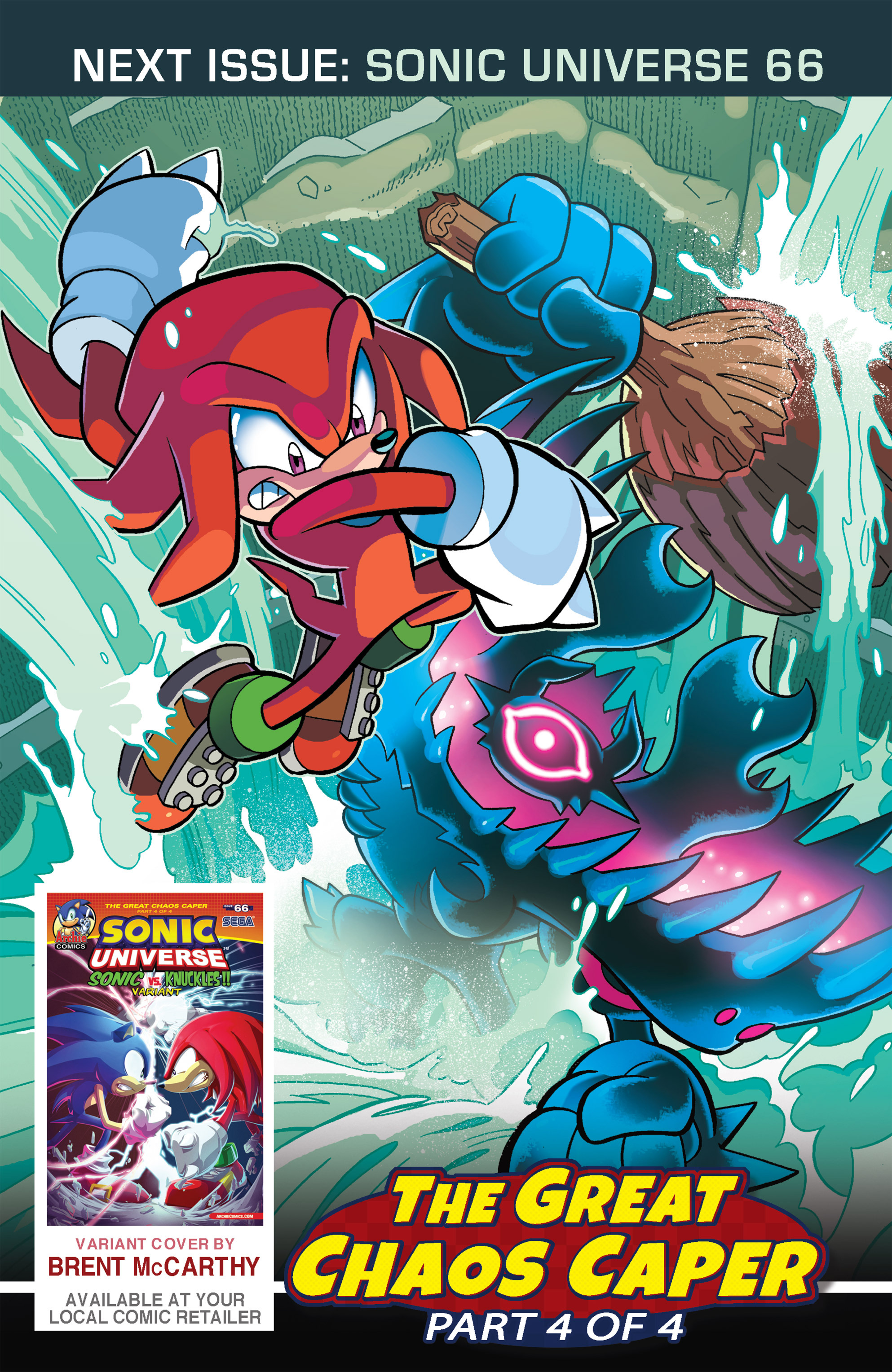 Read online Sonic Universe comic -  Issue #65 - 24