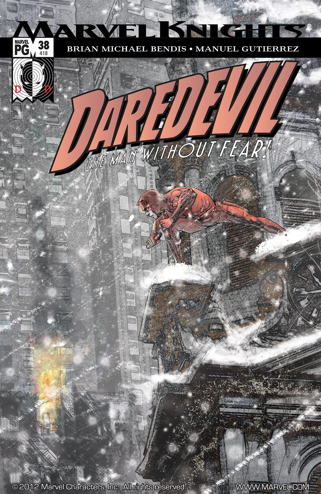 Read online Daredevil (1998) comic -  Issue # _Ultimate_Collection TPB 1 (Part 4) - 44