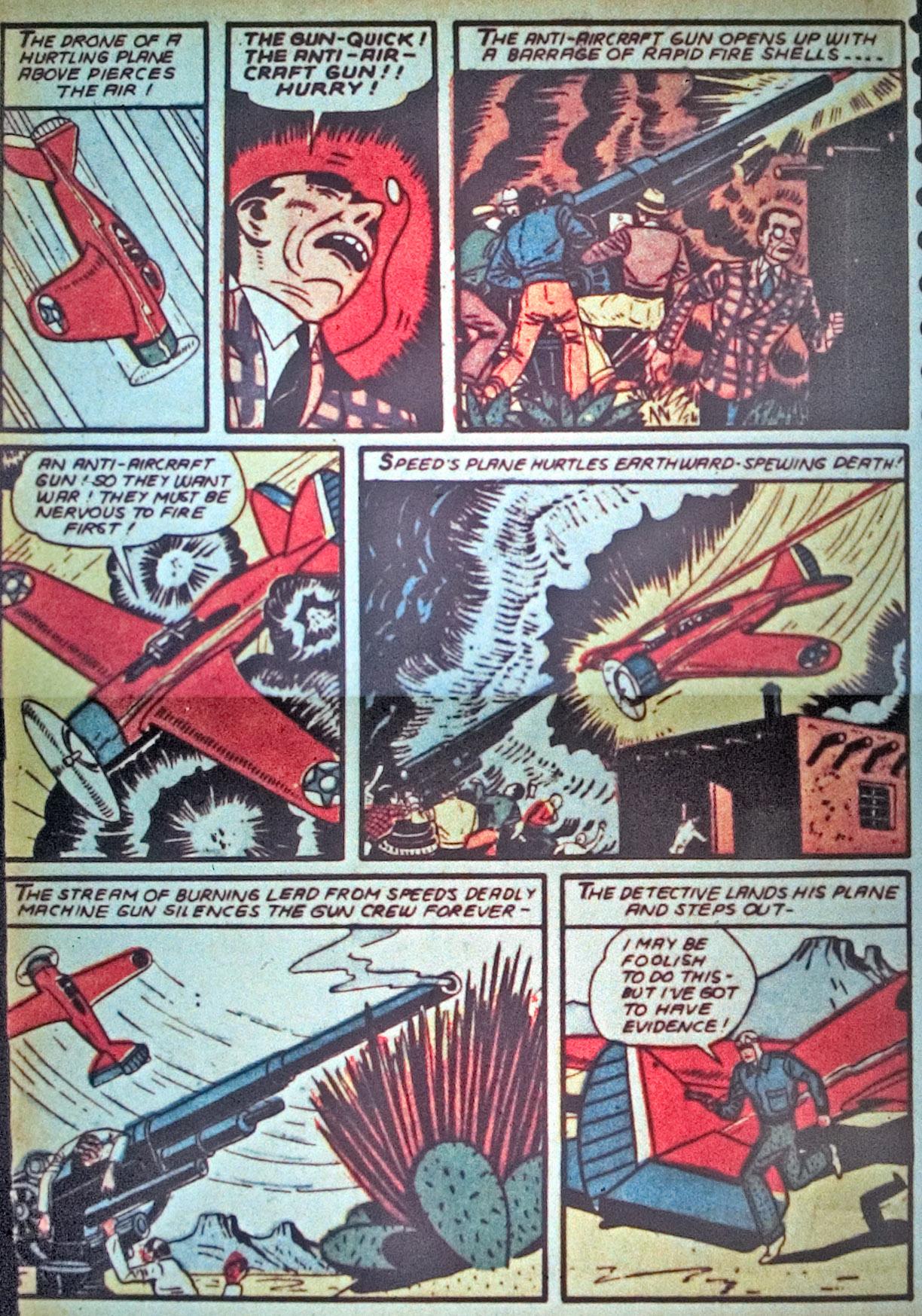Read online Detective Comics (1937) comic -  Issue #34 - 40