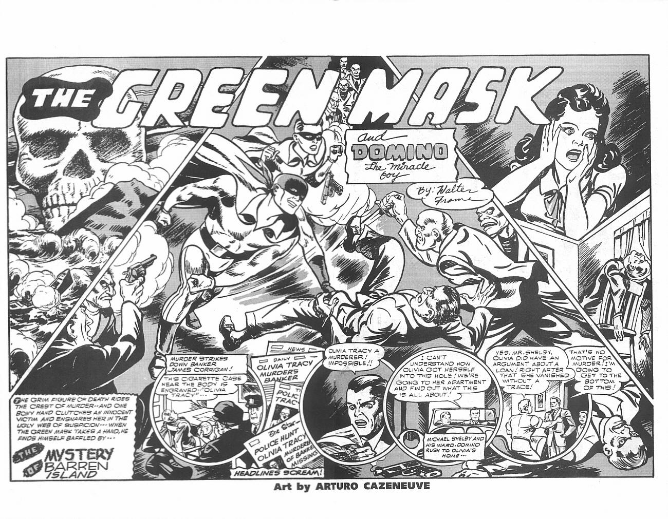 Read online Golden-Age Men of Mystery comic -  Issue #6 - 26