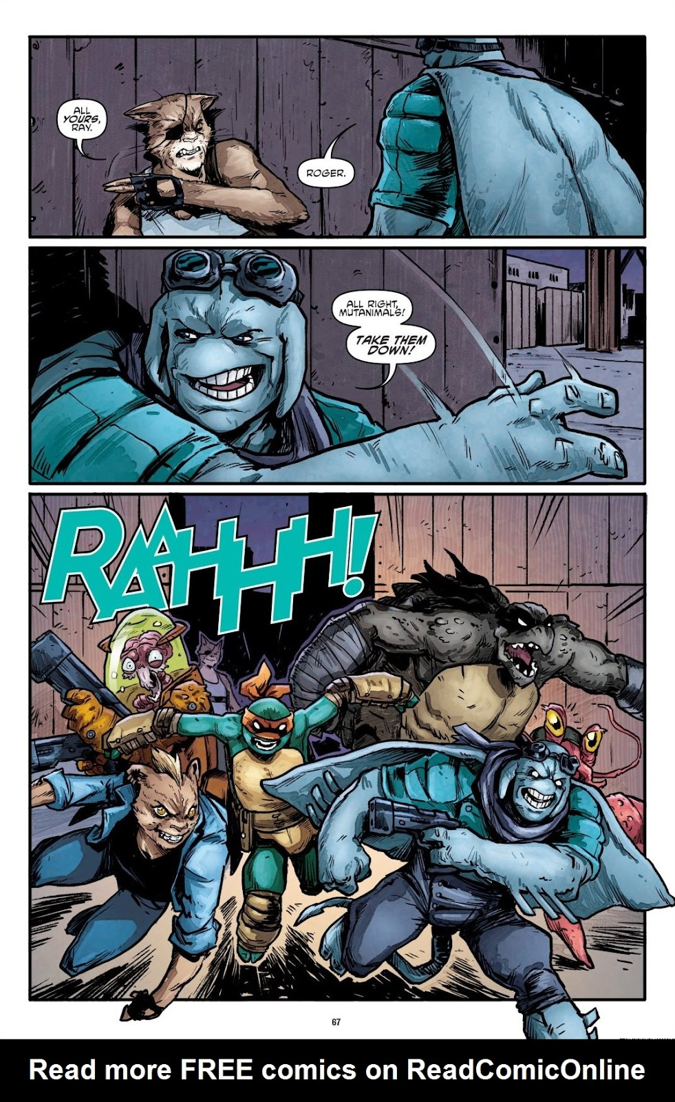 Read online Teenage Mutant Ninja Turtles: The IDW Collection comic -  Issue # TPB 7 (Part 1) - 66