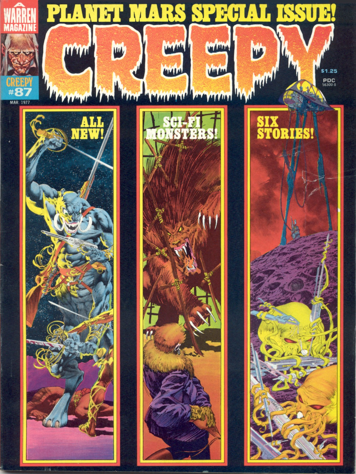 Creepy (1964) 87 Page 1